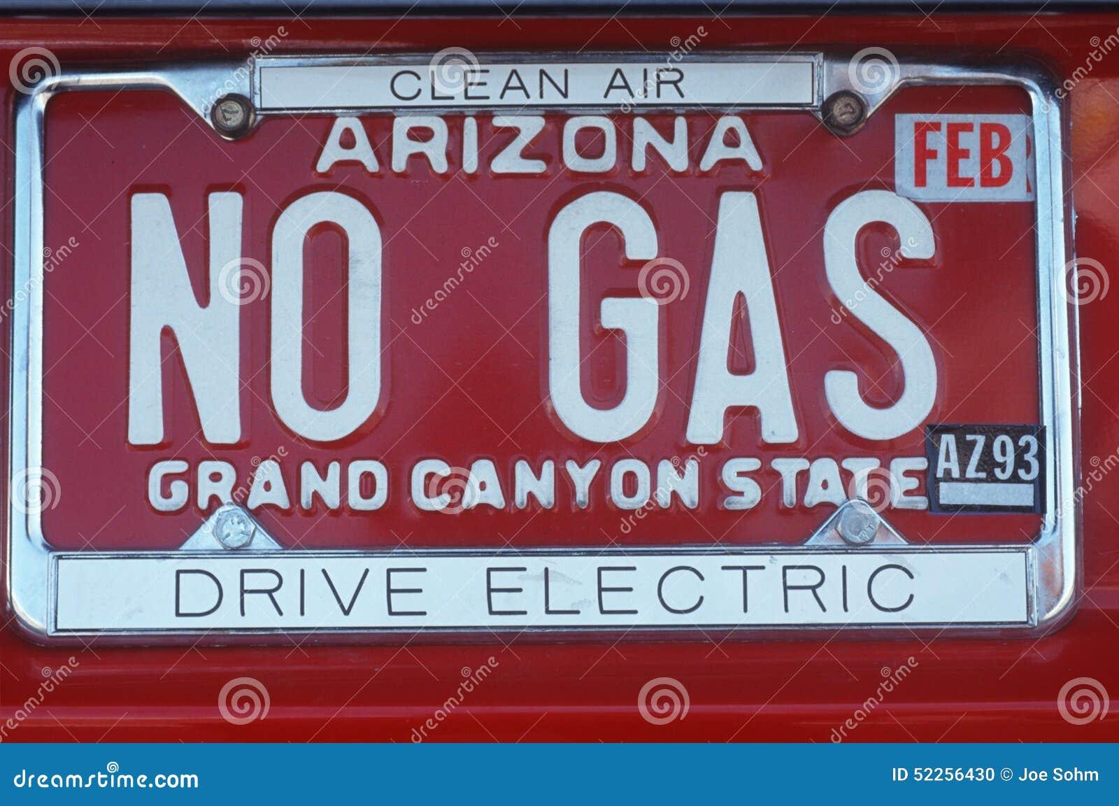Targa di immatricolazione di vanità - Arizona