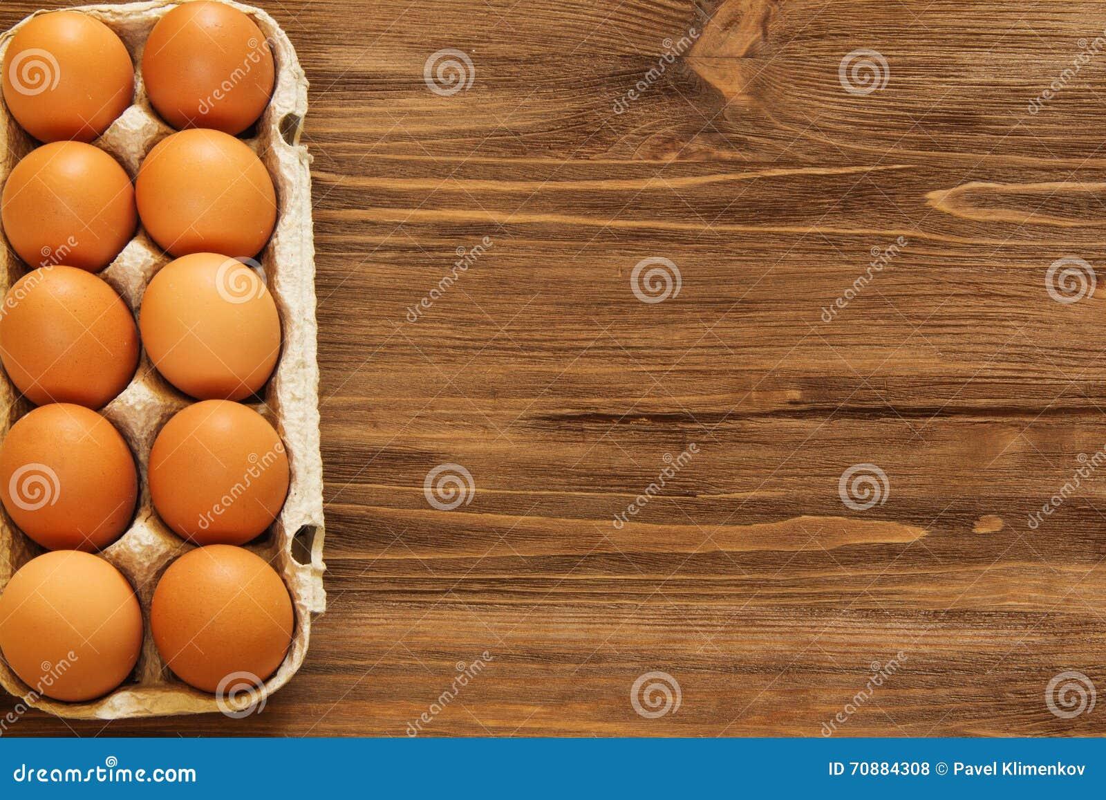 Target278_1_ łamający kulinarnych obrazu jajek nietknięty postęp niektóre taca