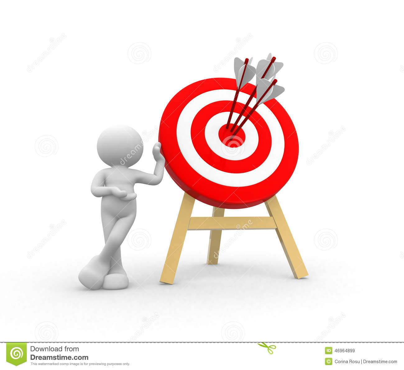Target And Arrows Stock Illustration Of Concept