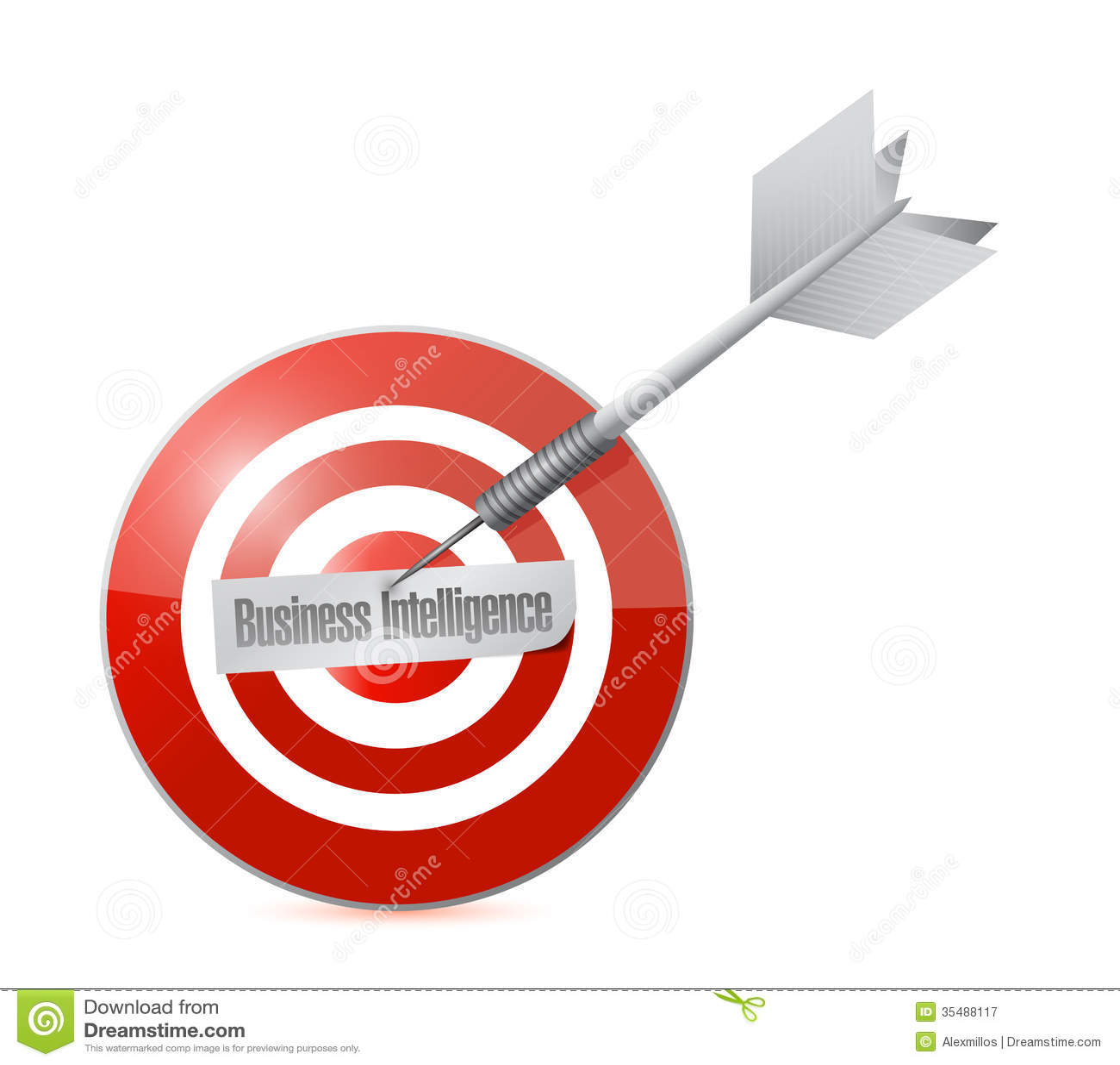 Target business intelligence illustration stock illustration royalty free stock photo buycottarizona Image collections