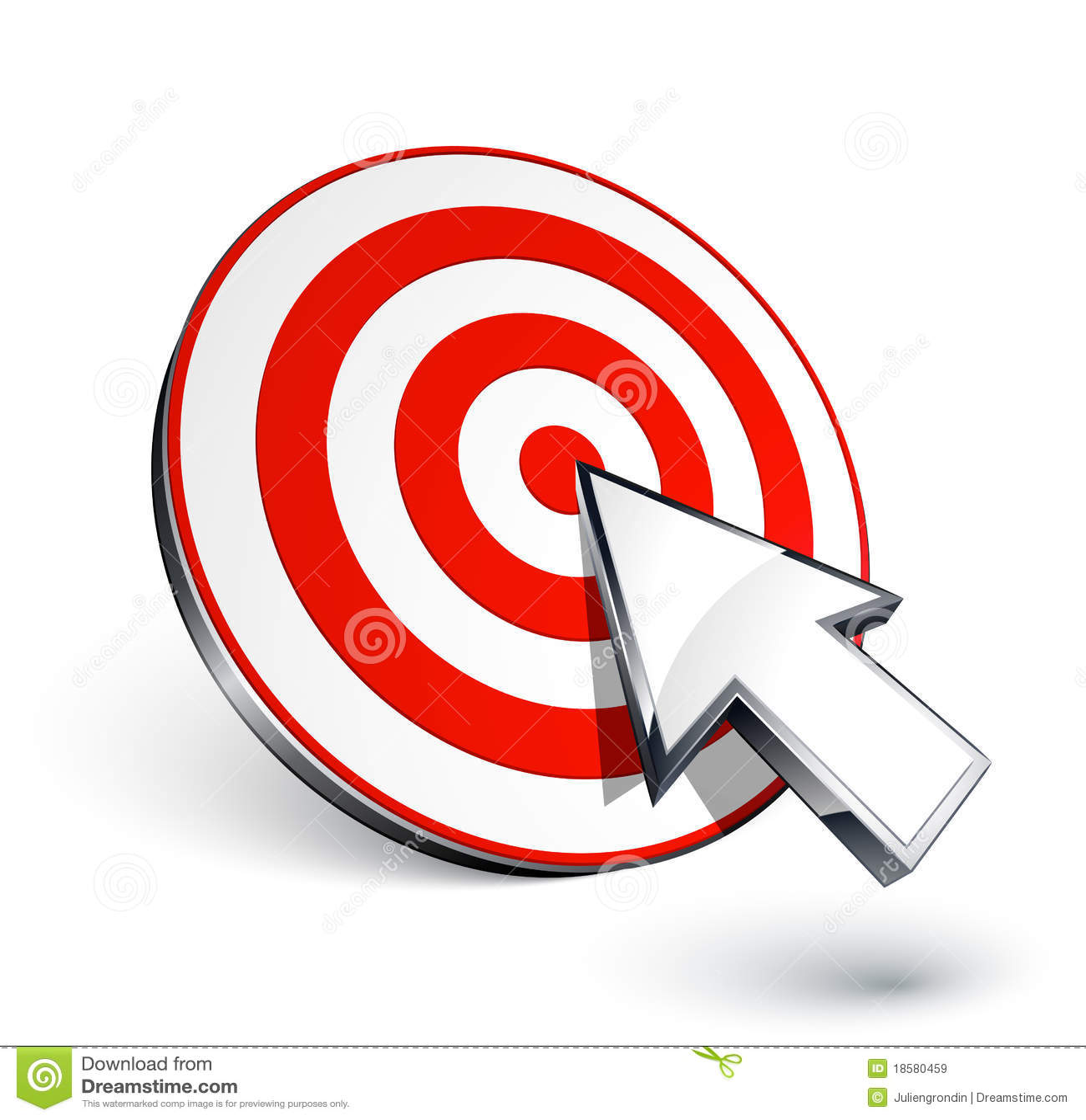 Target and cursor