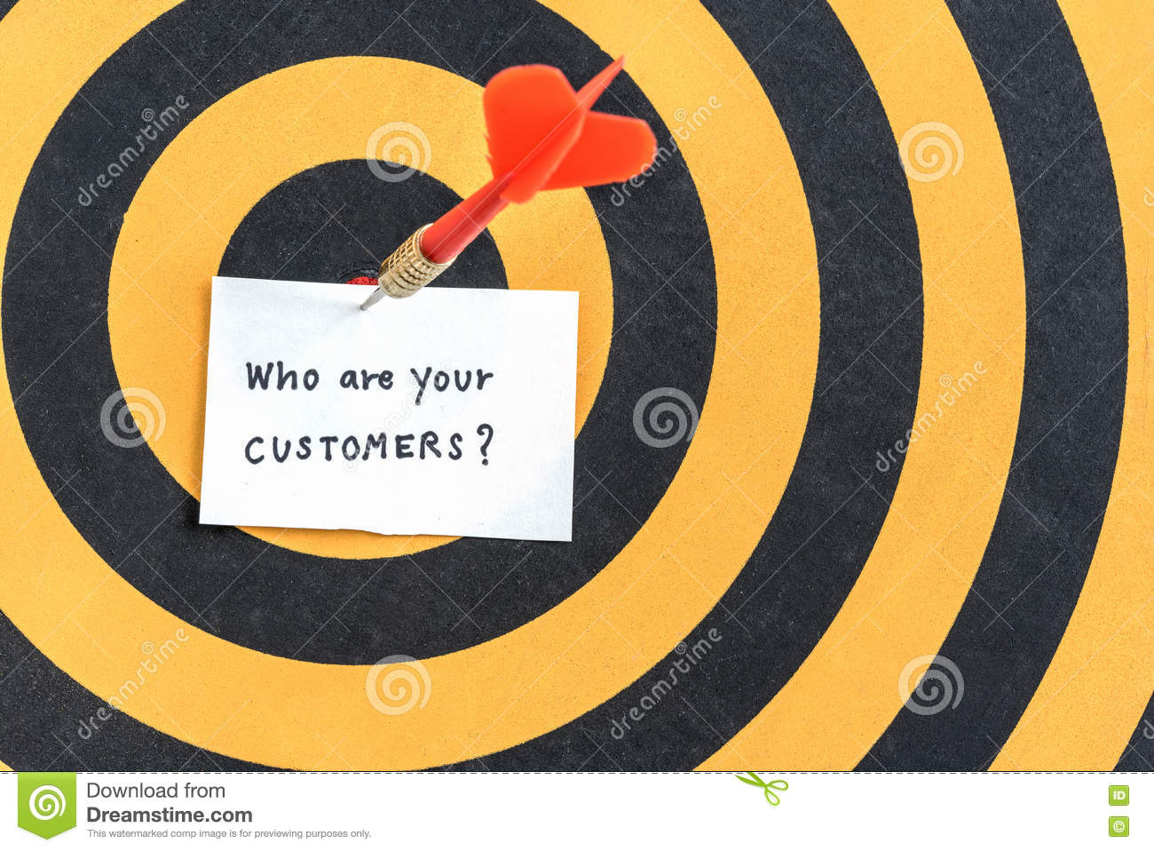 Target Customers Marketing Concept Stock Photo Image Of Abstract