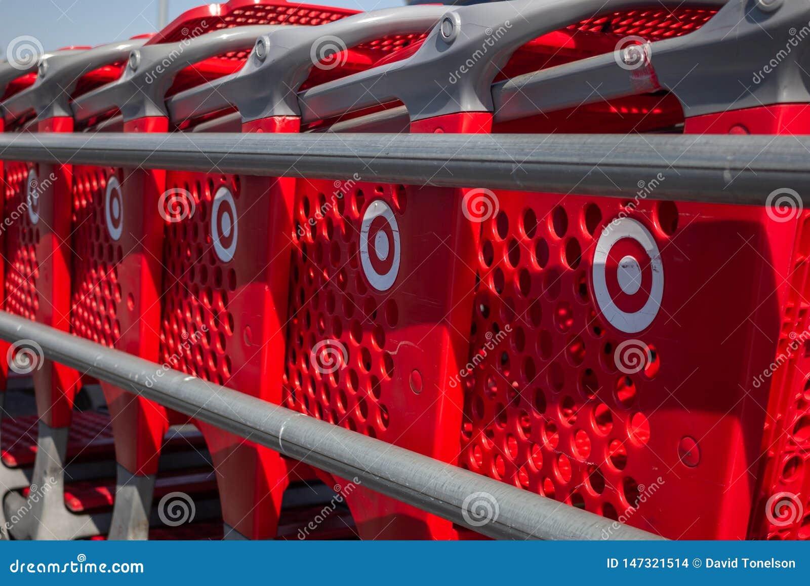 Target shoppings carts
