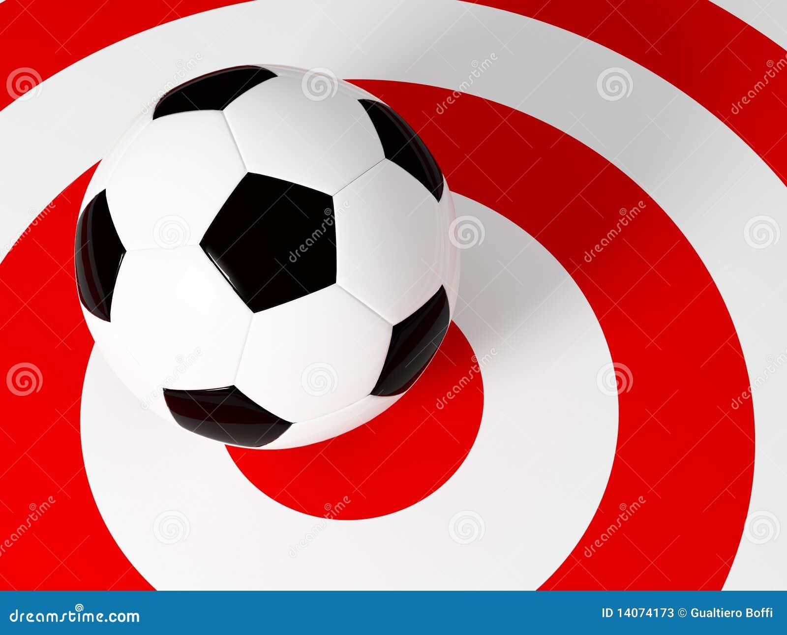 Target soccer ball stock illustration. Illustration of champion ... 298c1128b9e3