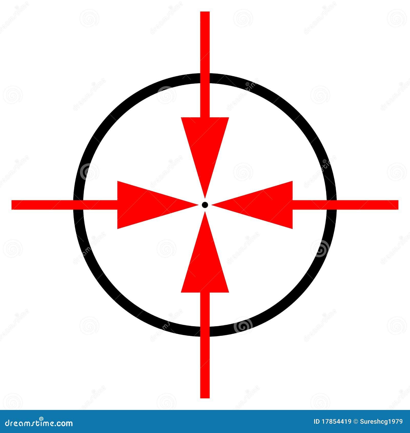 Target symbol stock vector illustration of black aiming 17854419 target symbol royalty free stock photo buycottarizona Image collections