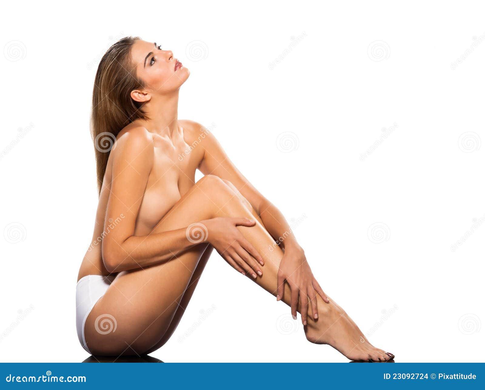 TARGET1166_0_ seksowny toples seksowna młoda kobieta