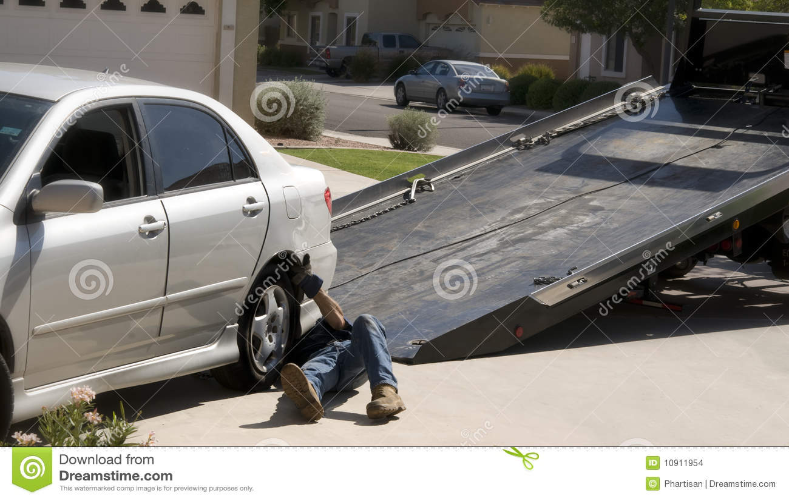 Target1419_1_ holowniczą ciężarówkę holowniczy łamany samochodowy puszek
