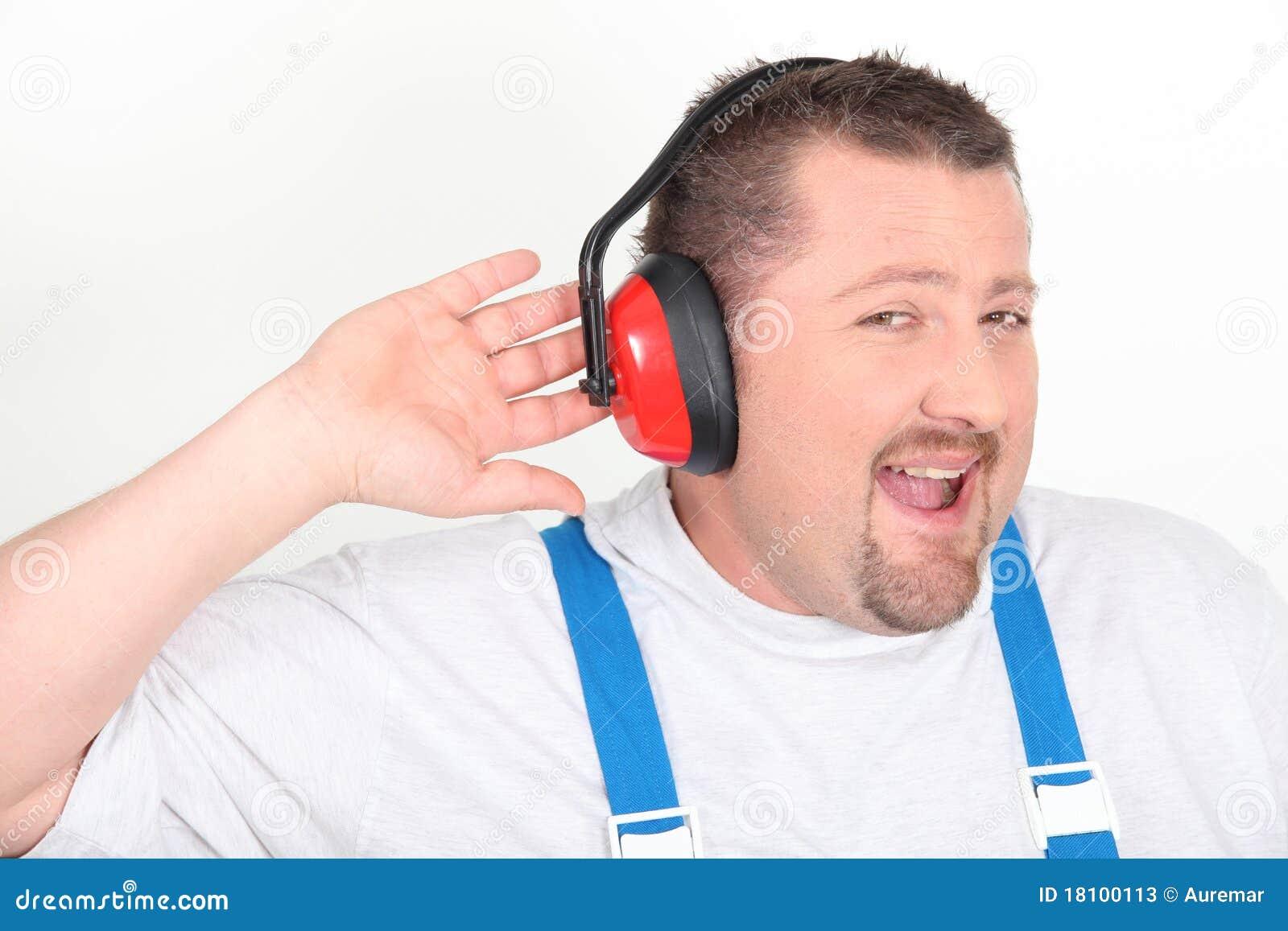 Target2487_0_ hełmofonów hałasu pracownika