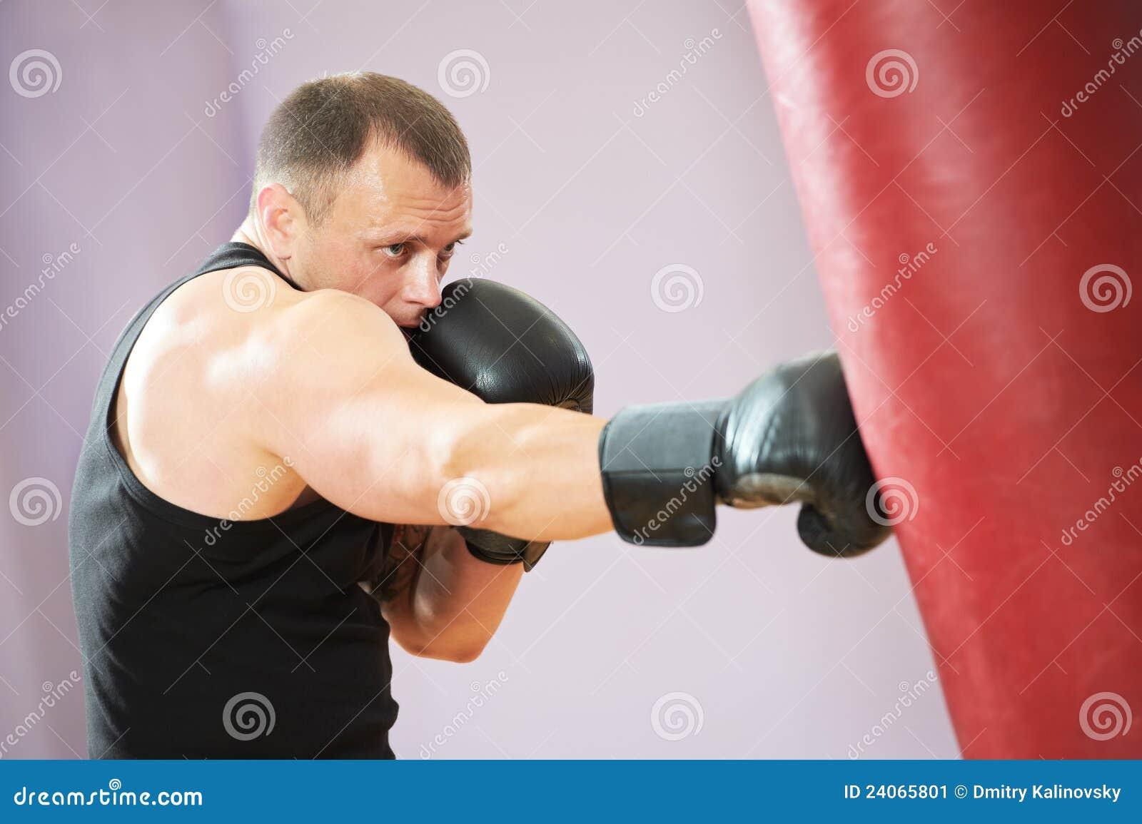 Target3656_1_ mężczyzna ciężkiego szkolenie torba bokser