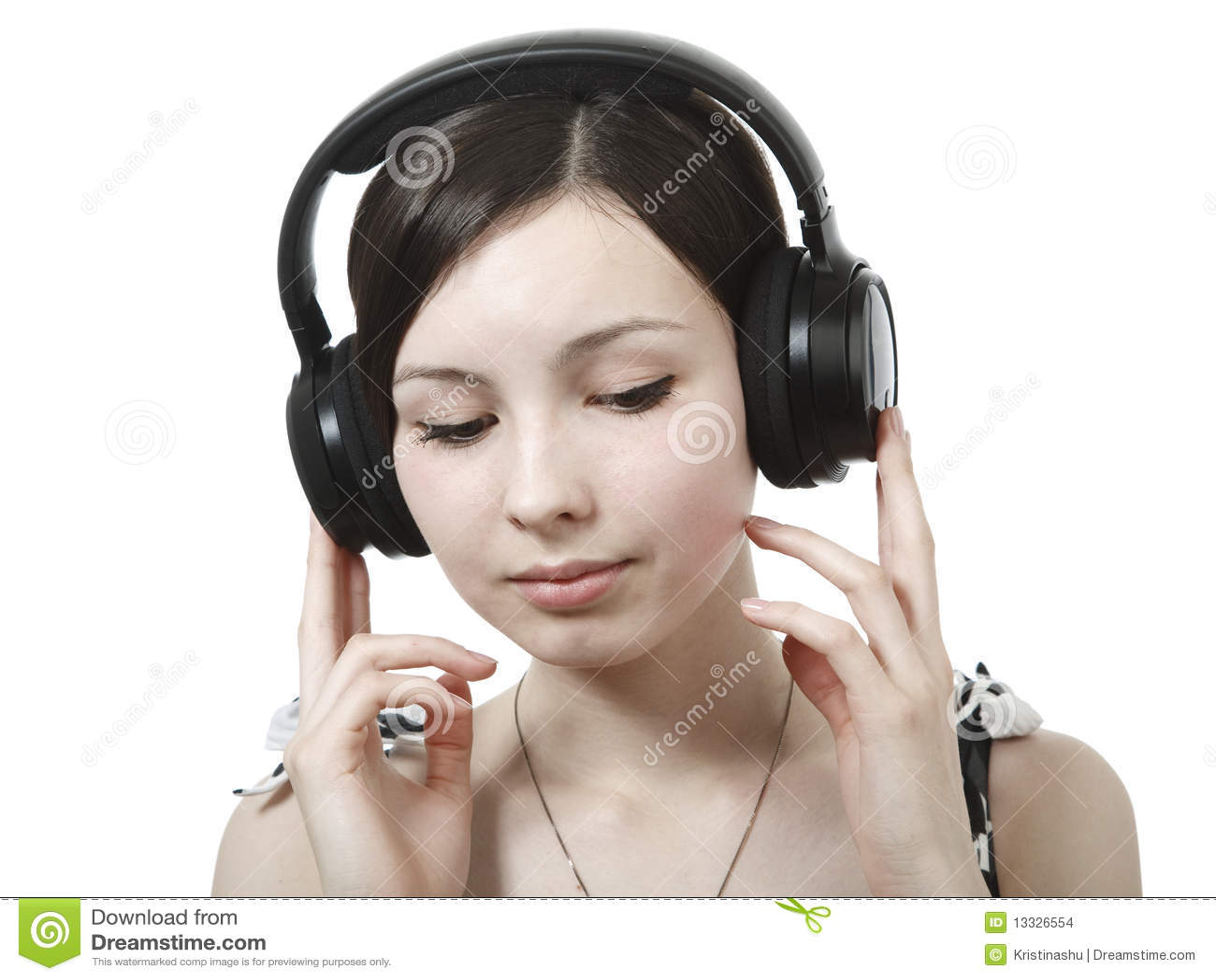 Target670_1_ muzykę dziewczyna hełmofony