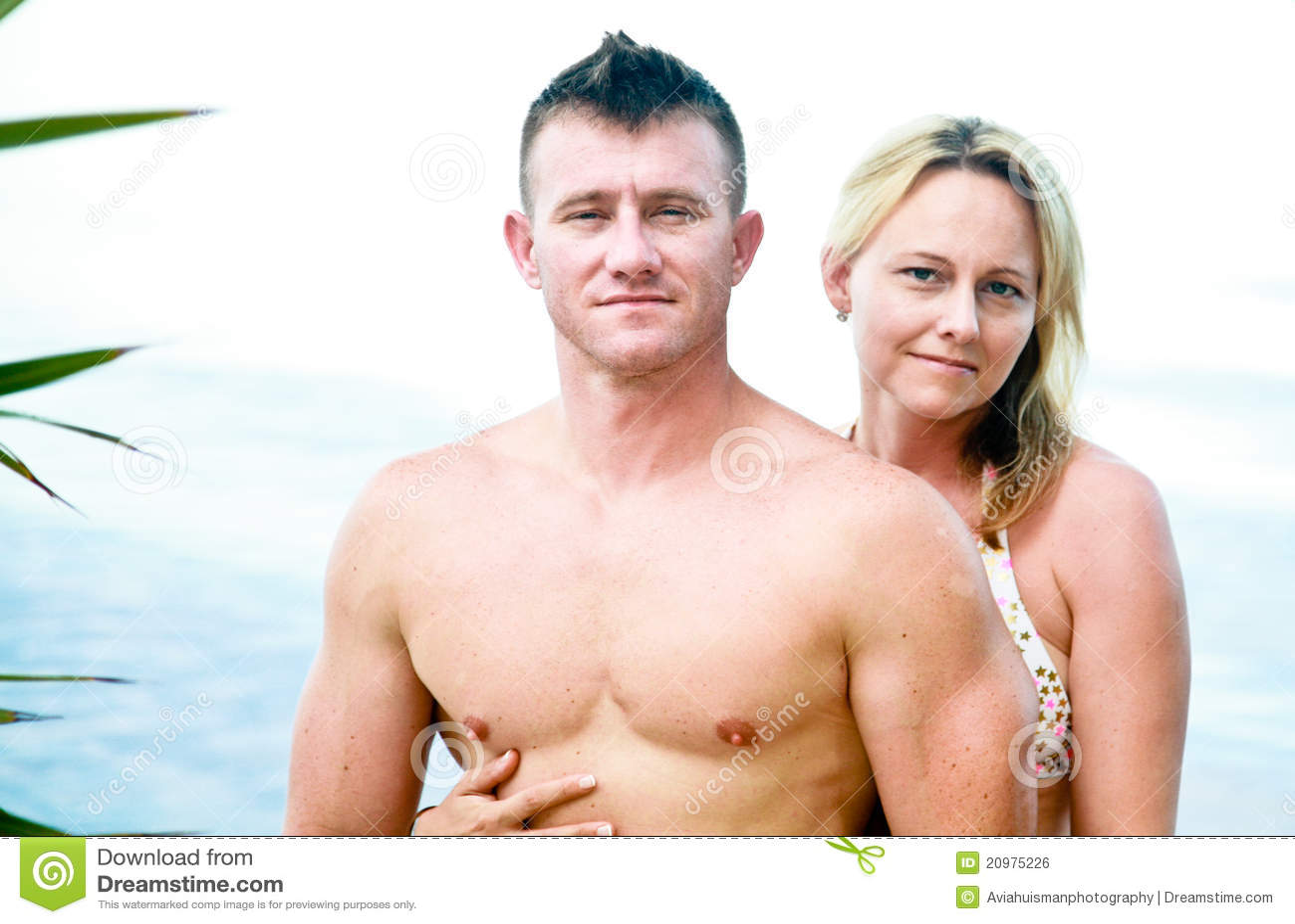 TARGET927_0_ Plażę atrakcyjna Para