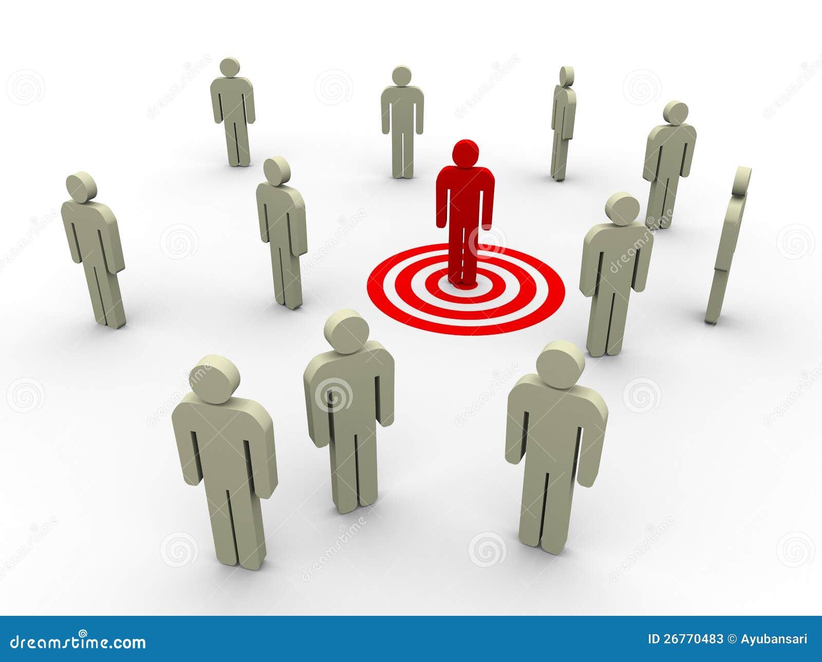 Targeting Buyer Stock Photos Image 26770483