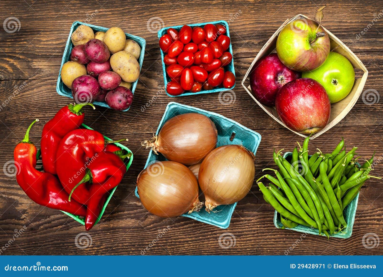 Targowi owoc i warzywo
