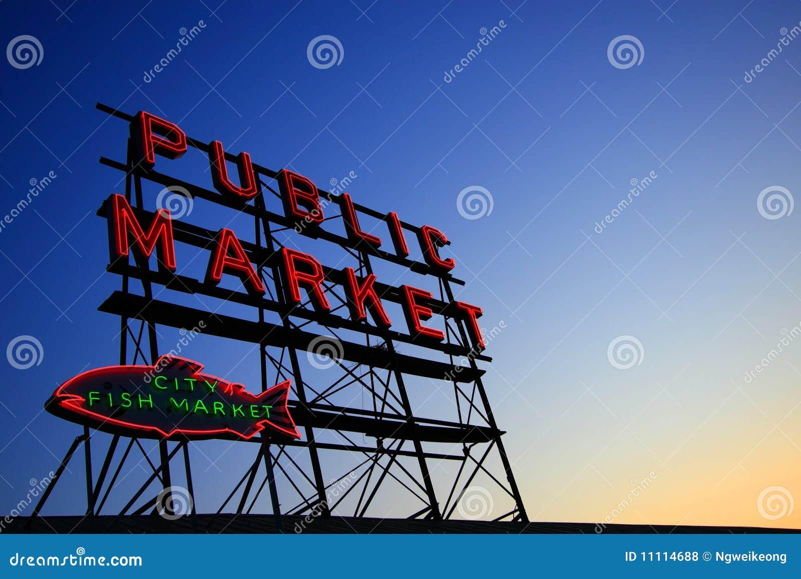 Targowy jawny signboard