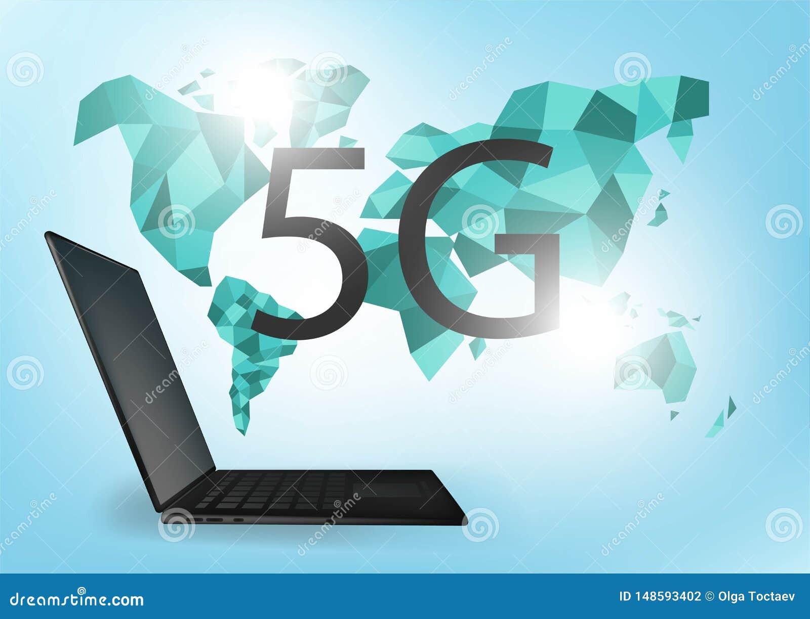 Tarifa de la velocidad de Internet de la conexi?n de red global 5G L?nea negocio de intercambio de datos mundial del punto del mu