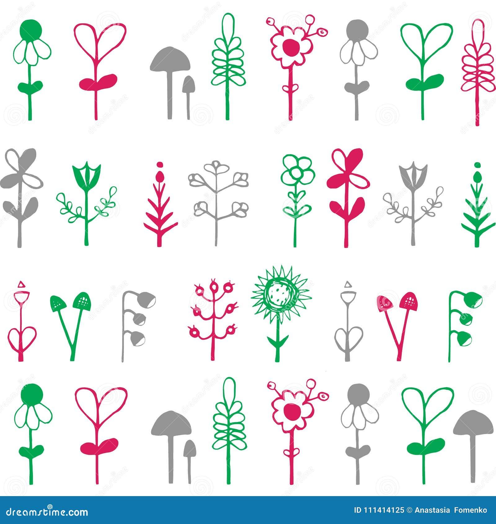 Tarjeta Brillante Colorida Con Las Flores Fondo Romántico