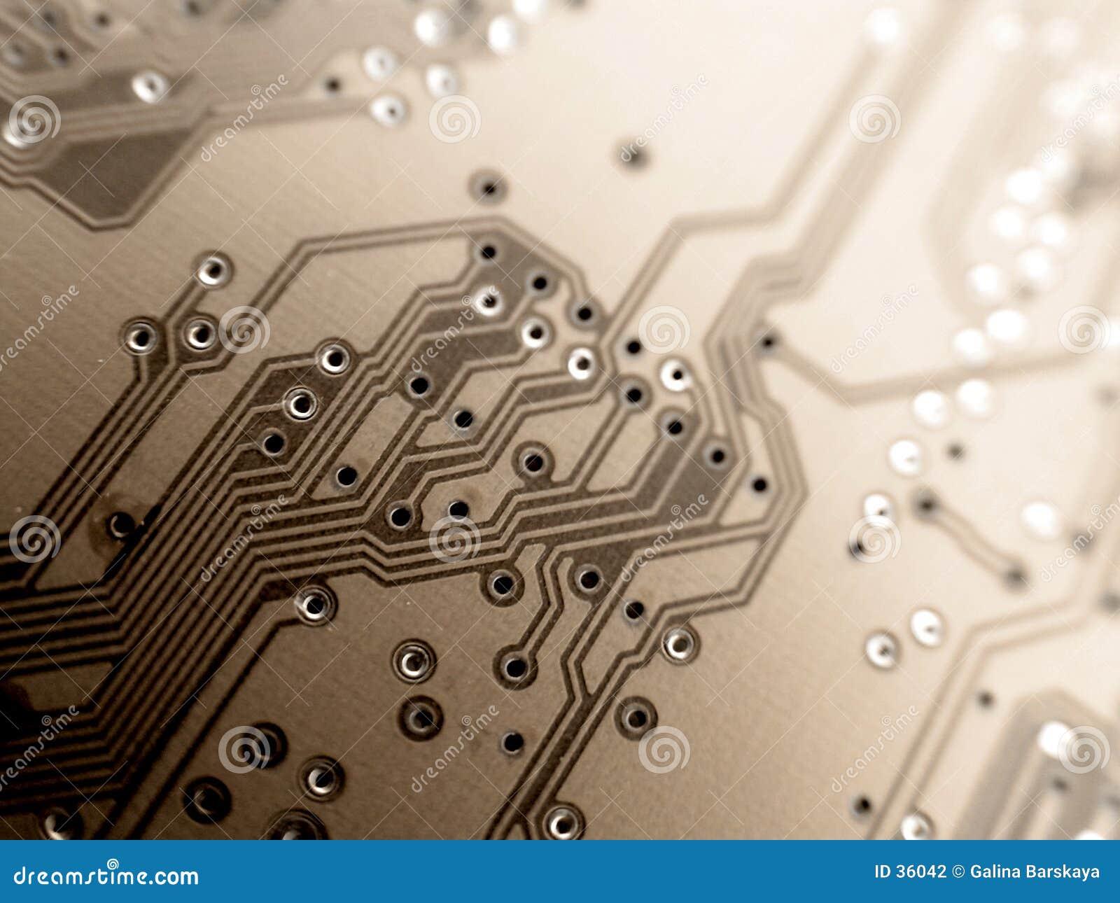 Download Tarjeta de circuitos foto de archivo. Imagen de retro, semiconductor - 36042