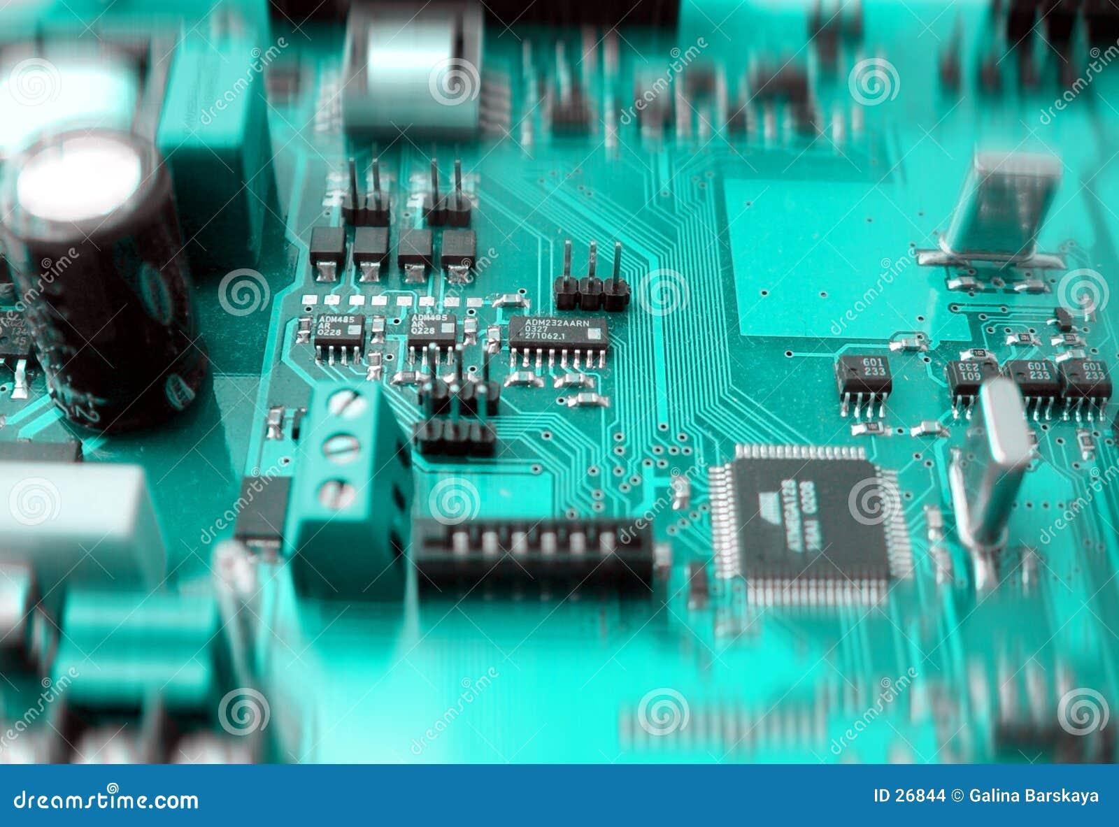 Download Tarjeta De Circuitos Electrónicos Foto de archivo - Imagen de circuito, internetwork: 26844