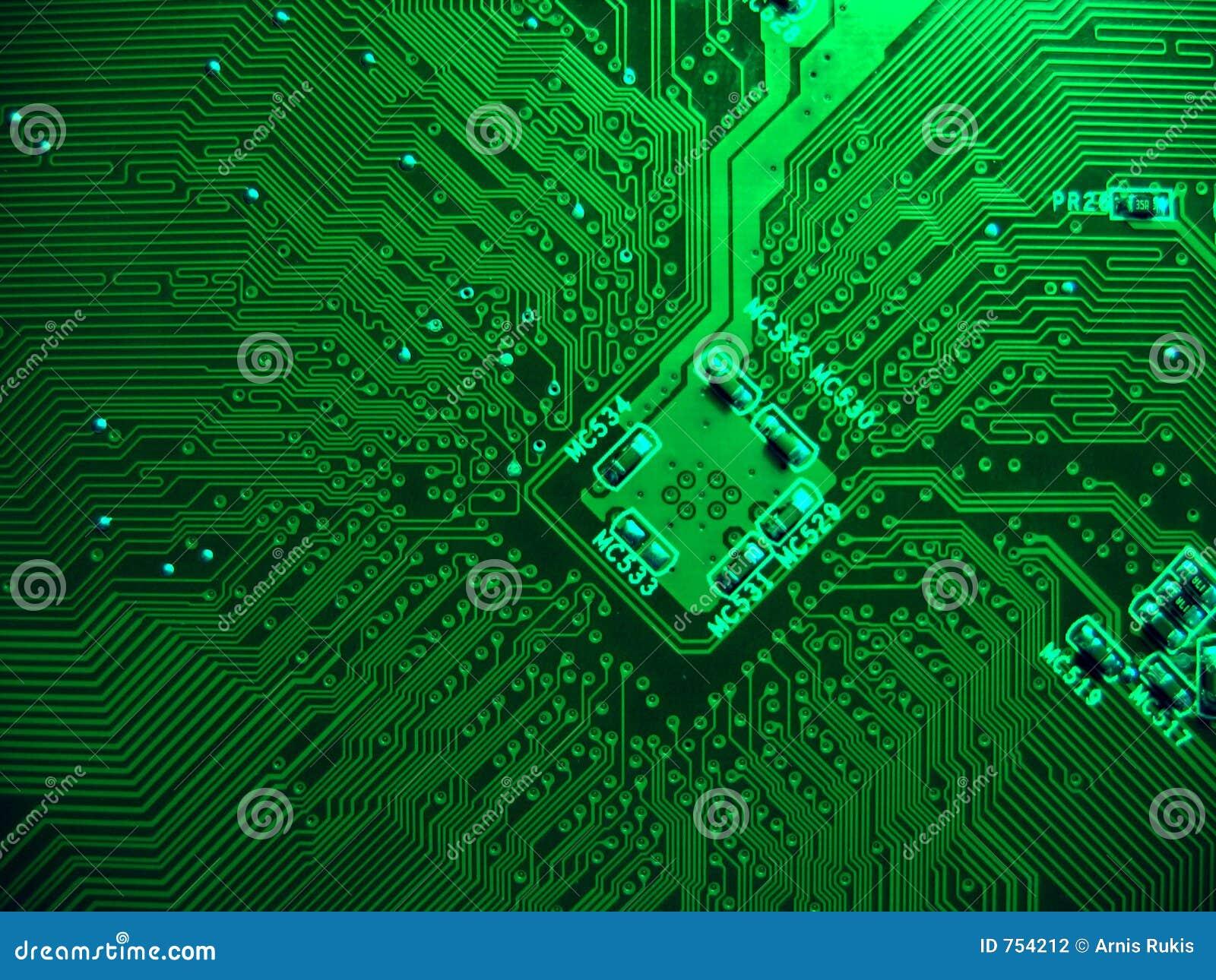Circuito Impreso : Tarjeta de circuitos impresos foto archivo imagen