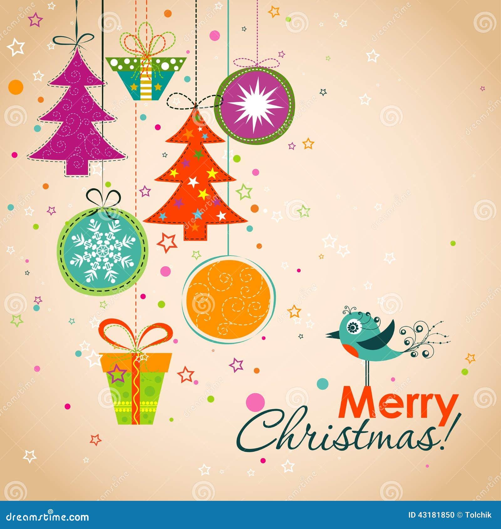 Árbol De Navidad Con Las Decoraciones Plantilla De Corte Del Laser ...
