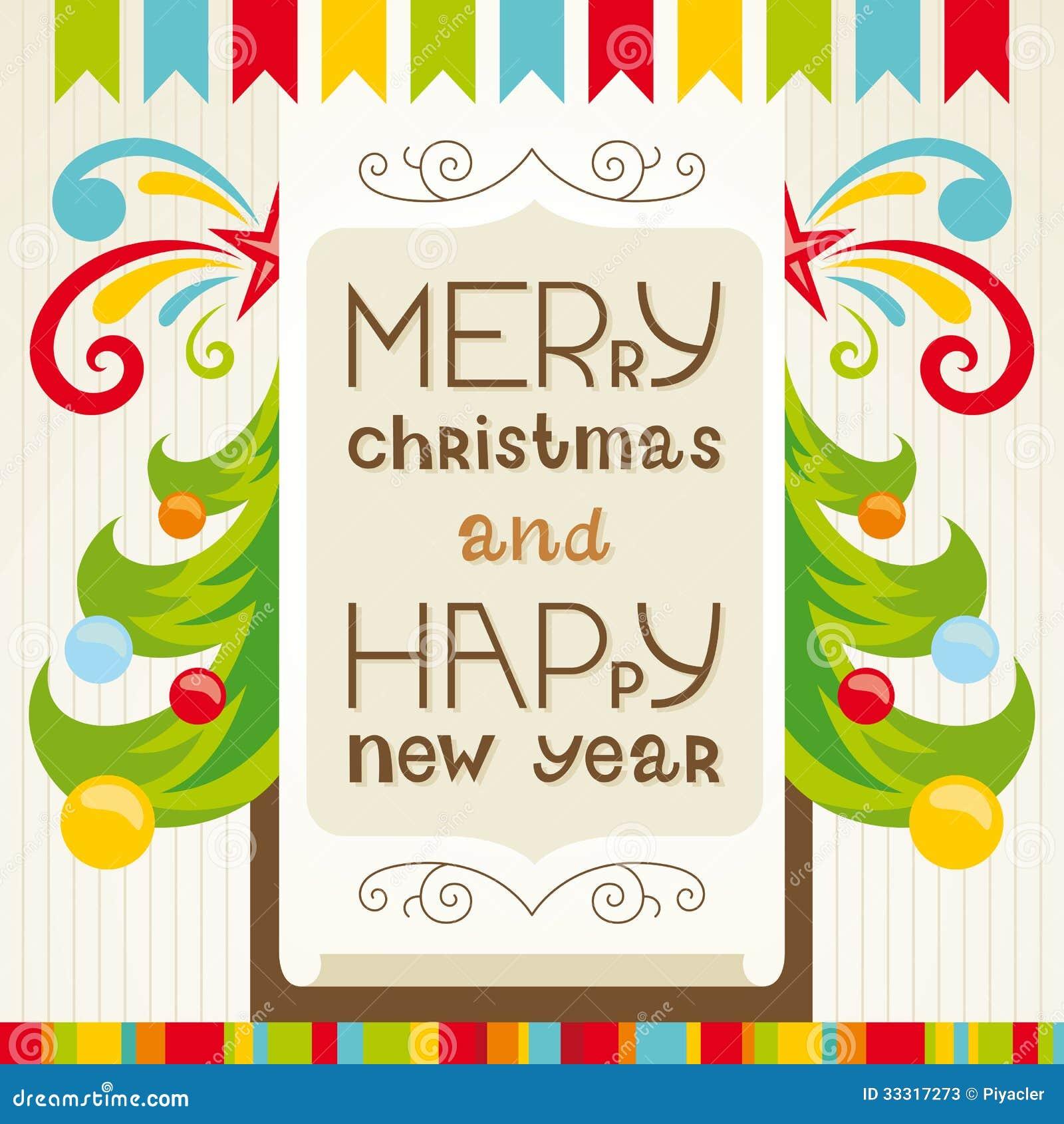 Letra de tarjeta de navidad
