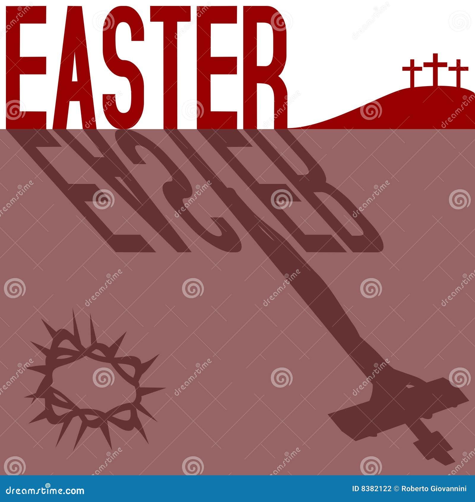 Tarjeta de felicitación de Pascua