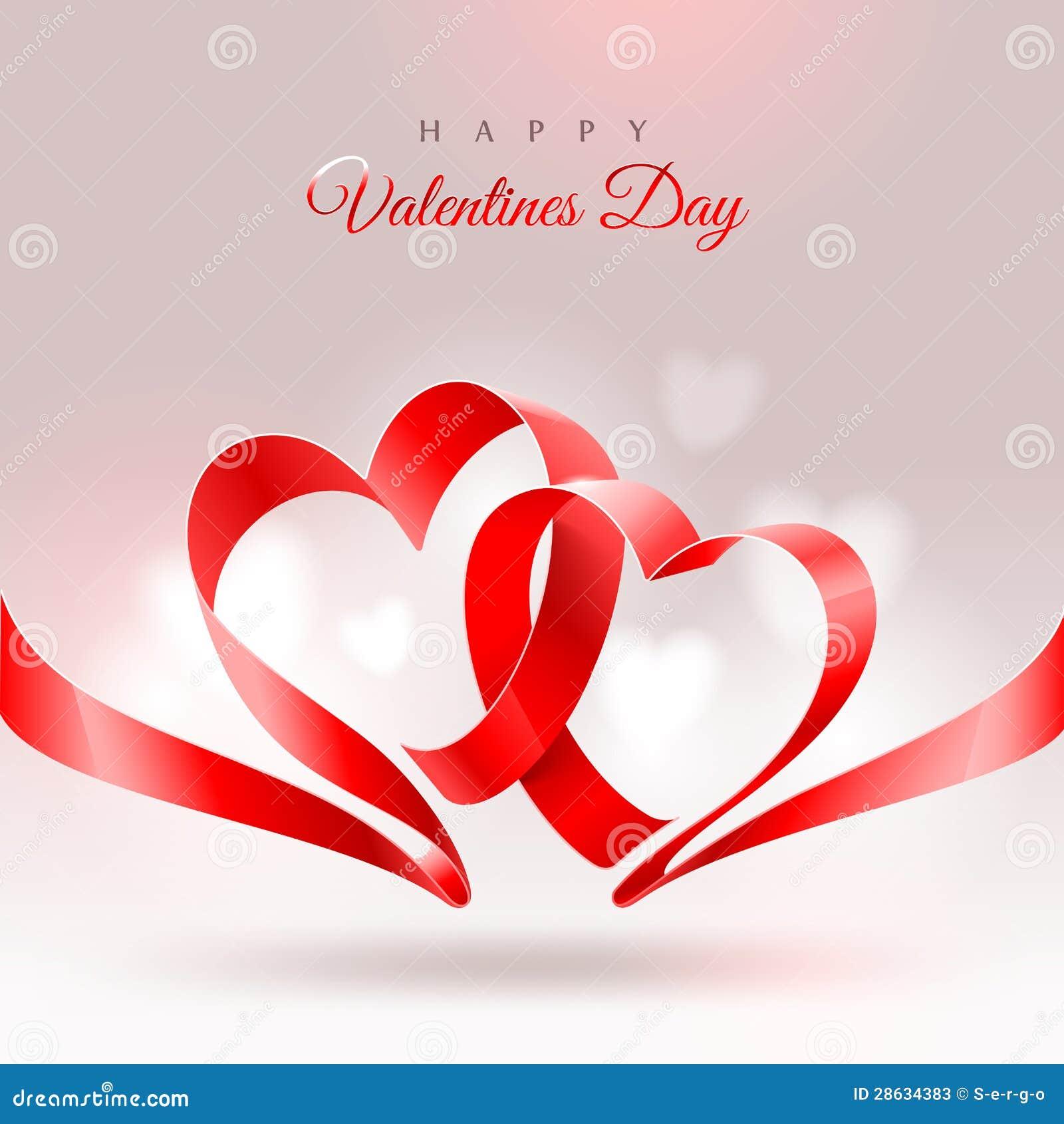 Tarjeta de felicitación del día de tarjetas del día de San Valentín