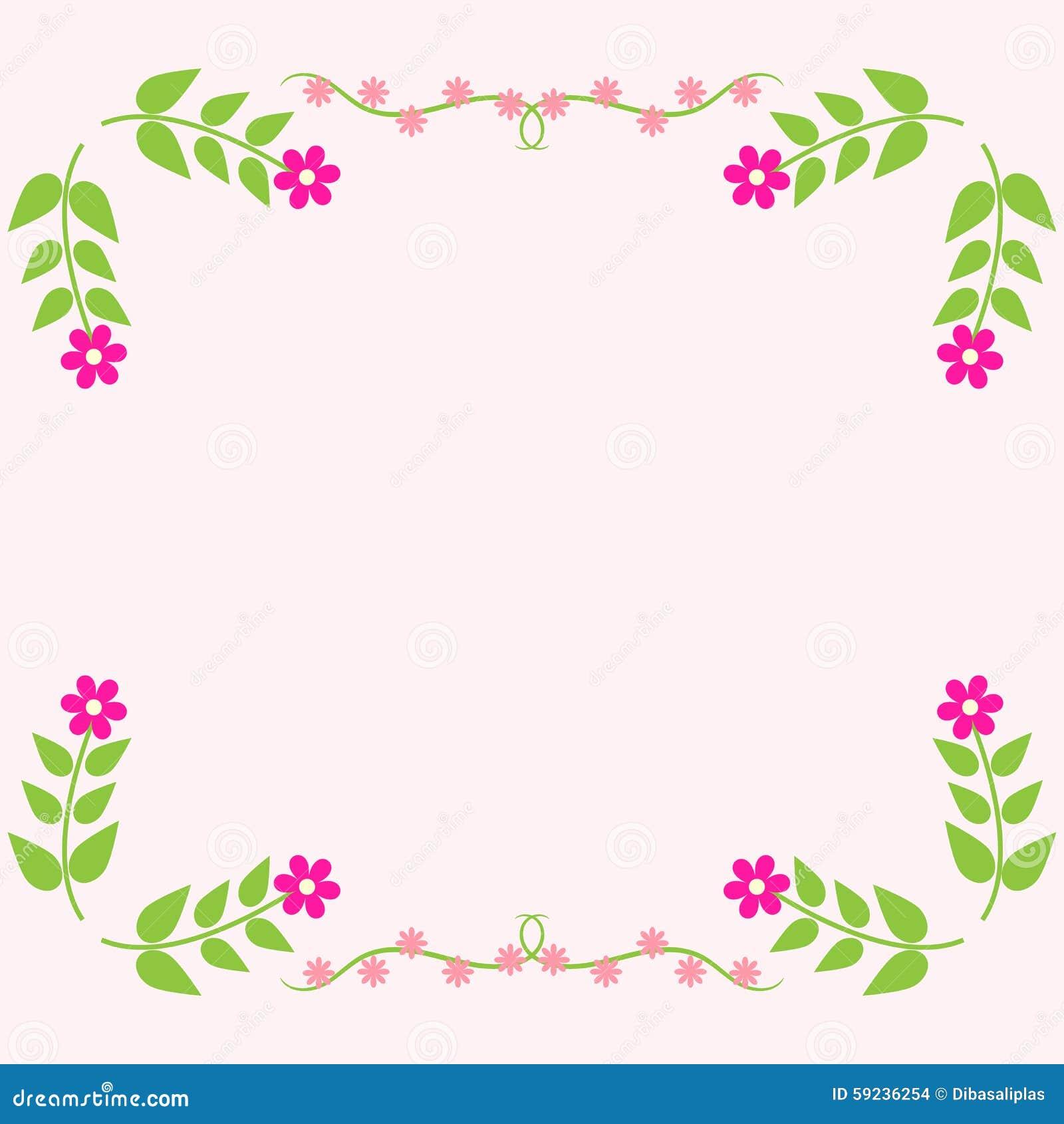 Download Tarjeta De Felicitación Floral Pintada Ilustración del Vector - Ilustración de vástago, floral: 59236254