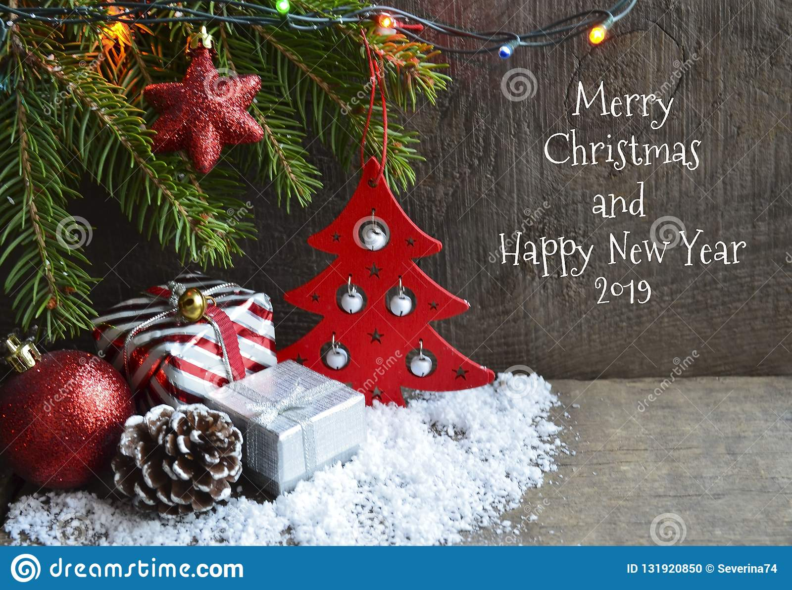 Imagenes Felicitacion Navidad 2019.Tarjeta 2019 De Felicitacion De La Feliz Navidad Y De La