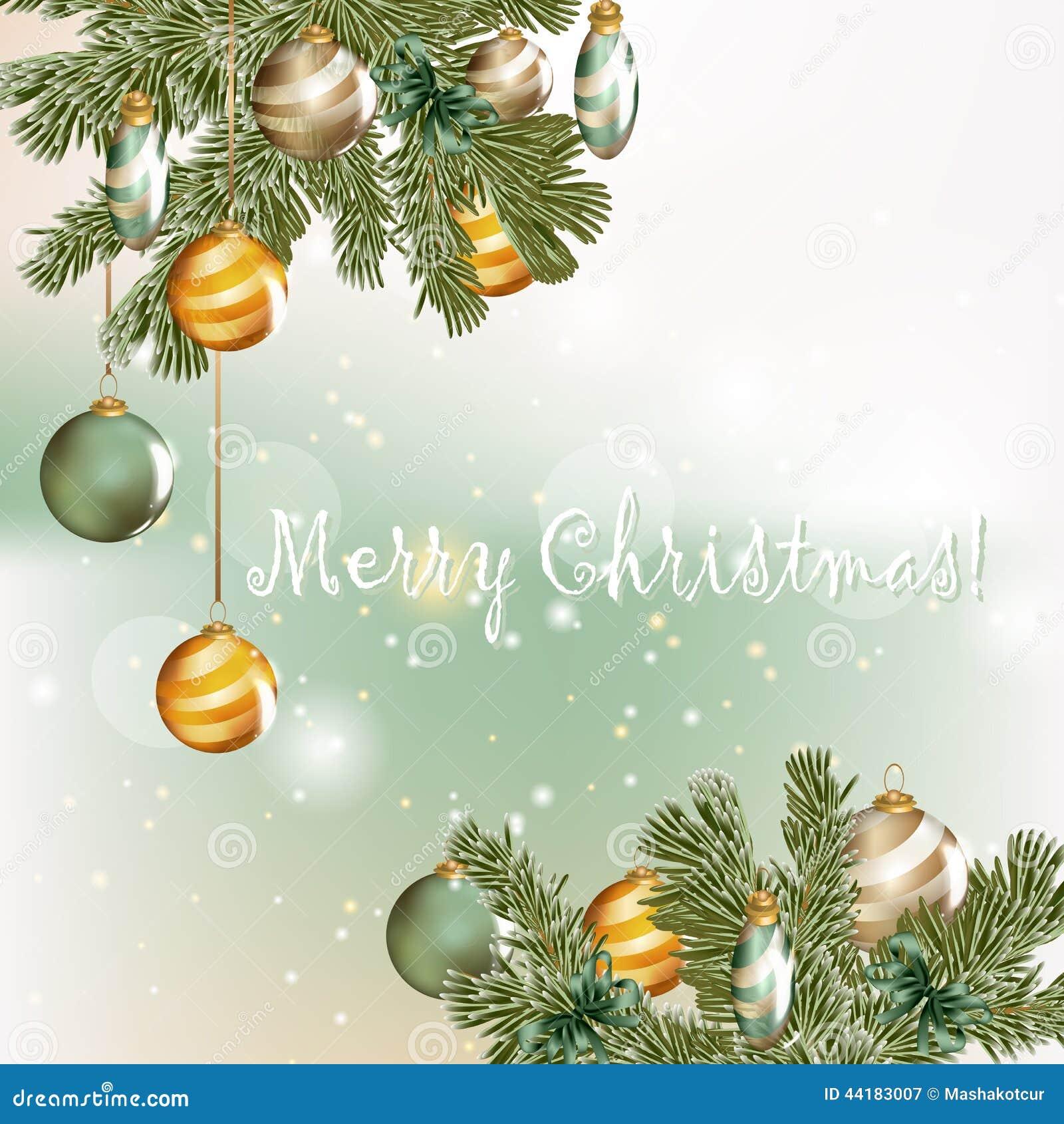 Tarjeta de felicitaci n de la navidad en estilo elegante - Tarjetas de navidad elegantes ...