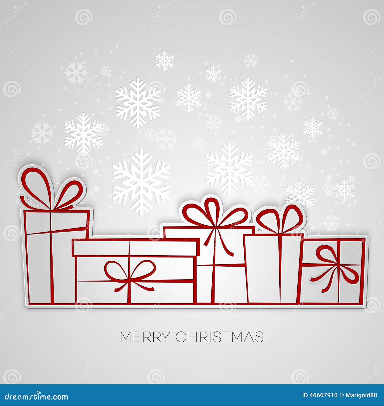 A Very Merry Borik�n Christmas: Tarjeta De Felicitación Del Regalo De La Feliz Navidad