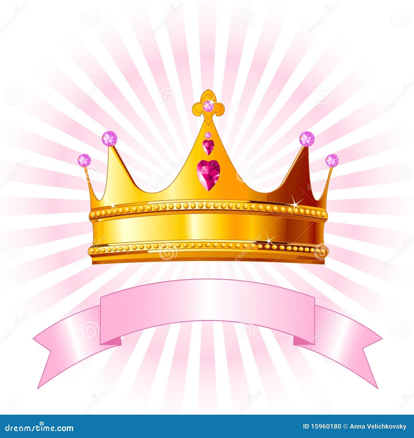 Tarjeta de la corona de la princesa foto de archivo - Modelos de coronas ...