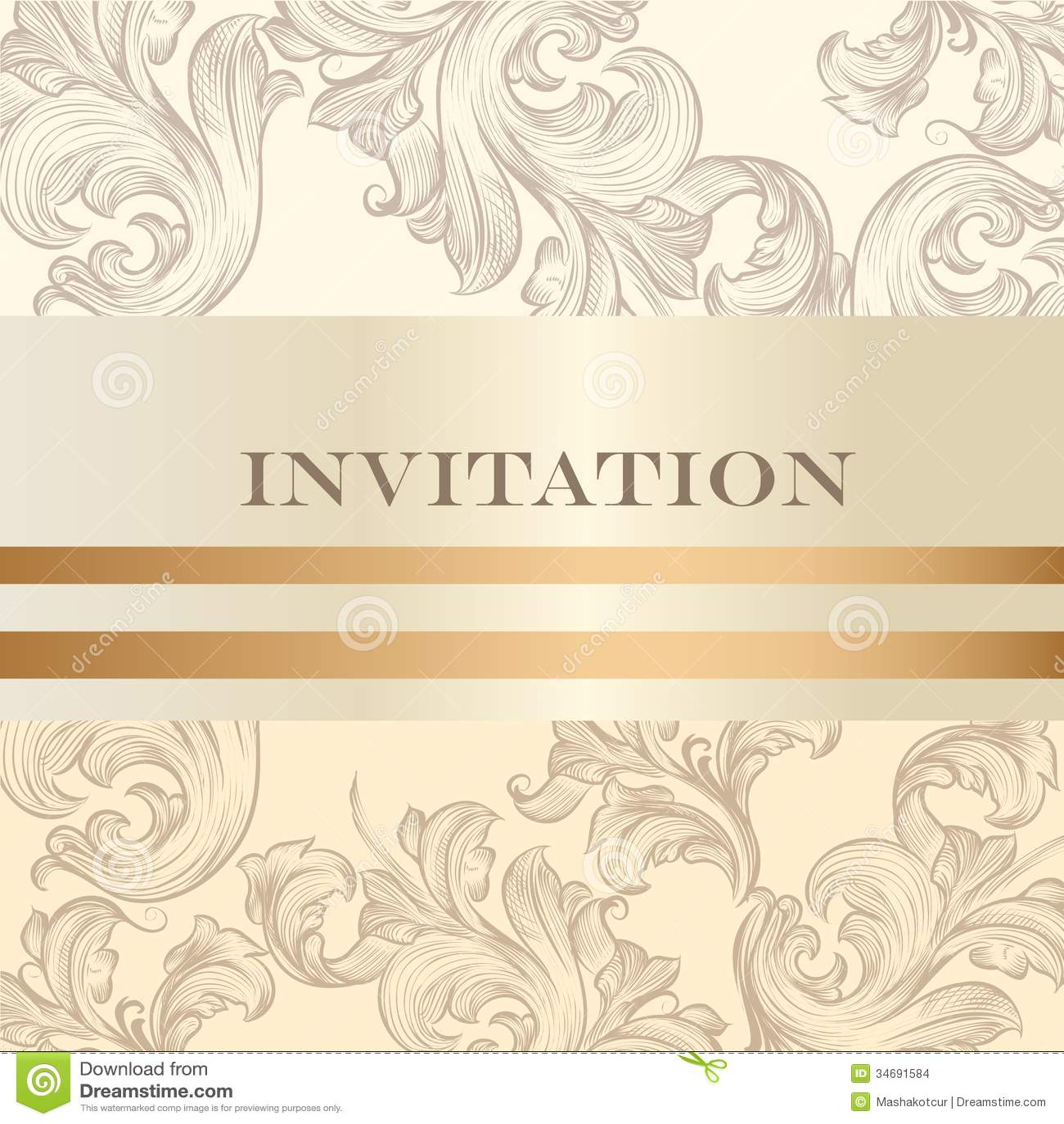Invitaciones de boda del diseñador