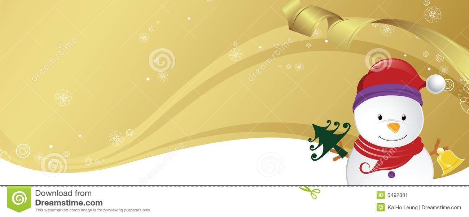 Tarjeta De La Invitación De La Fiesta De Navidad Stock De