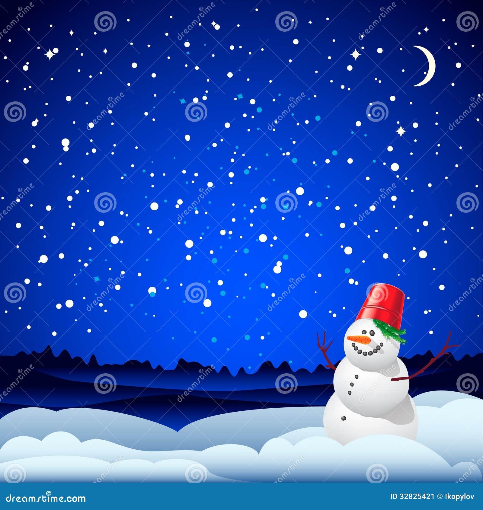 Tarjeta de la navidad y del a o nuevo con el mu eco de - Dedicatorias para navidad y ano nuevo ...