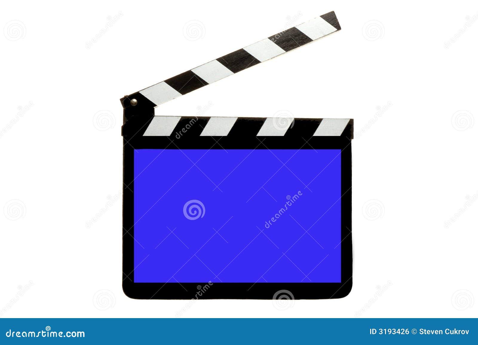 Tarjeta de la palmada con la pantalla azul