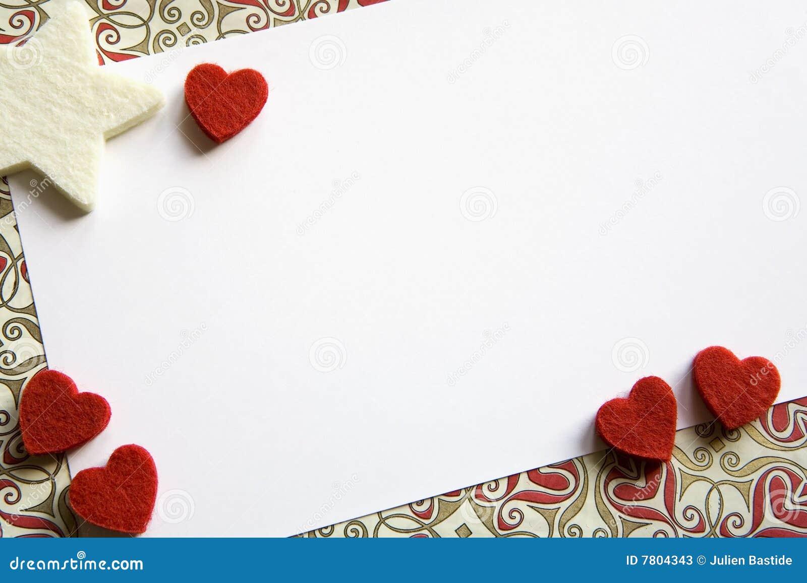 Tarjeta de la tarjeta del día de San Valentín