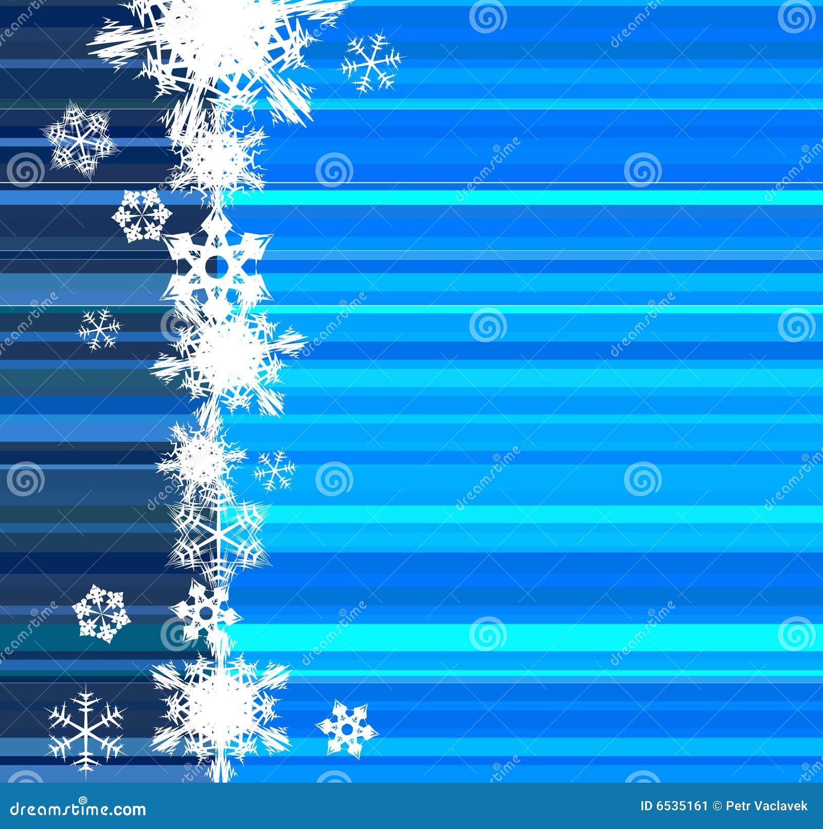 tarjeta de navidad con las lneas azules imagen de archivo