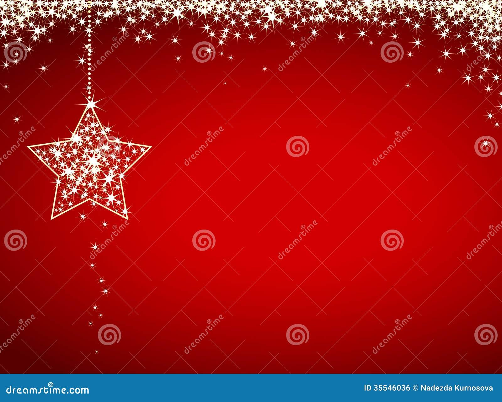 Tarjeta De Navidad Del Brillo Ilustración Del Vector