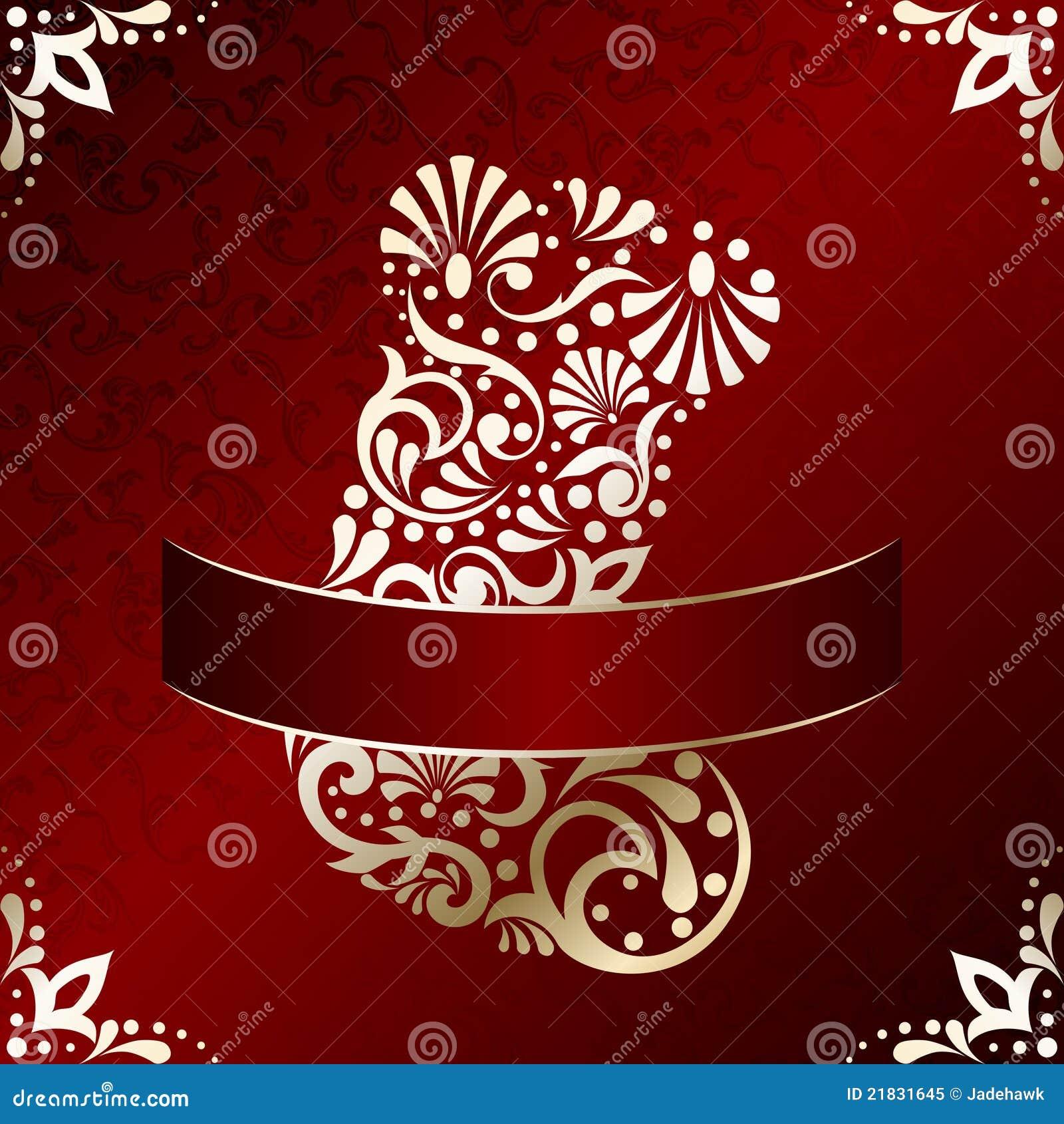 Tarjeta de navidad elegante con la media afiligranada foto - Tarjetas de navidad elegantes ...