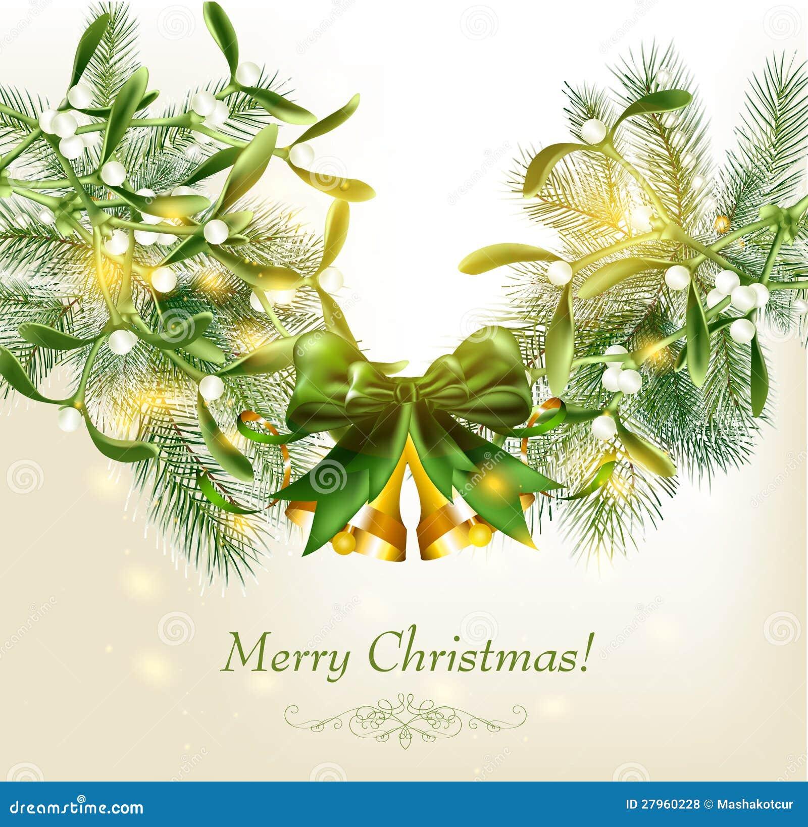 tarjeta de navidad elegante con las de la piel fotos de archivo libres de regalas