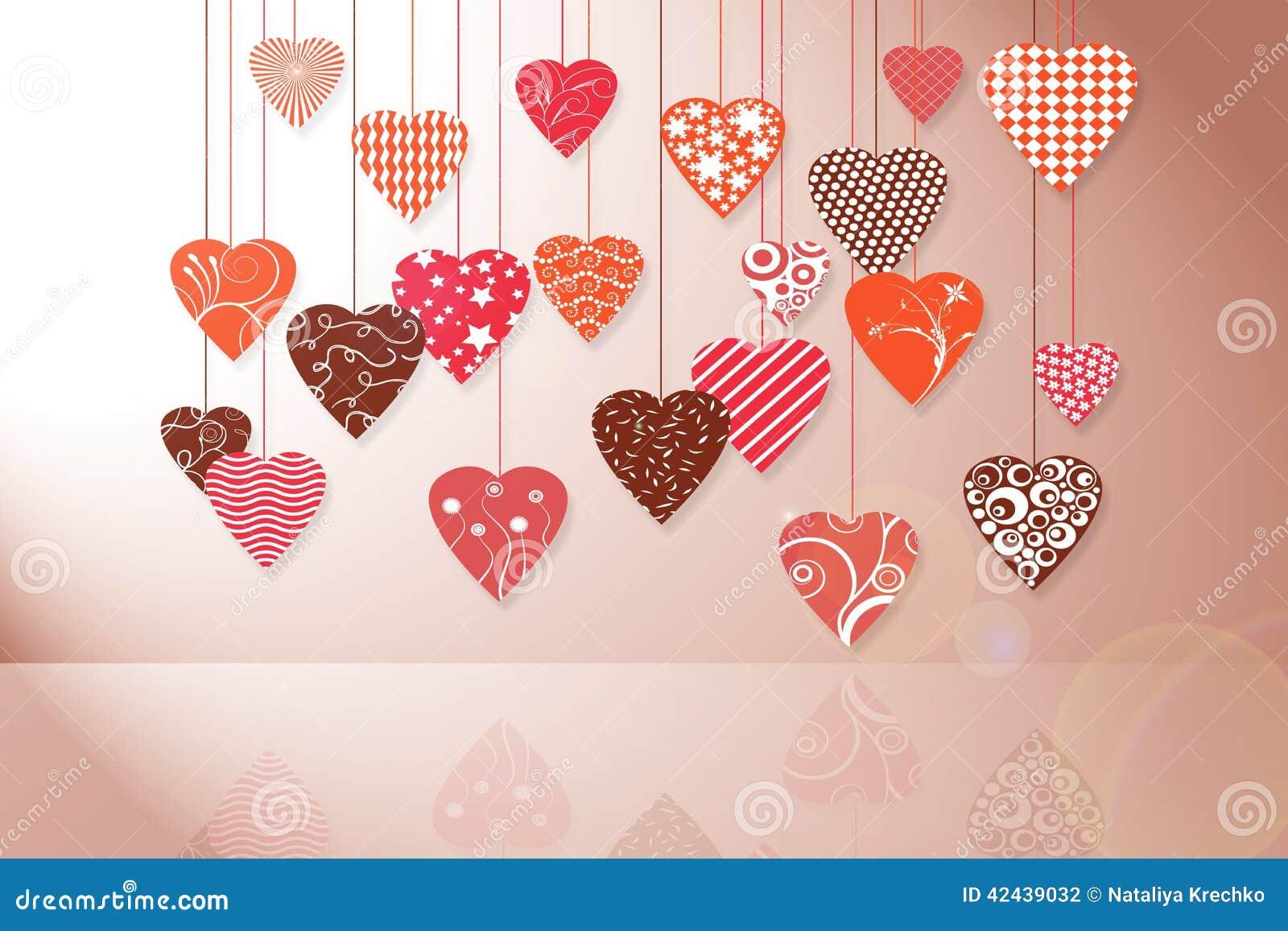 Tarjeta del día de fiesta para el día de tarjeta del día de San Valentín