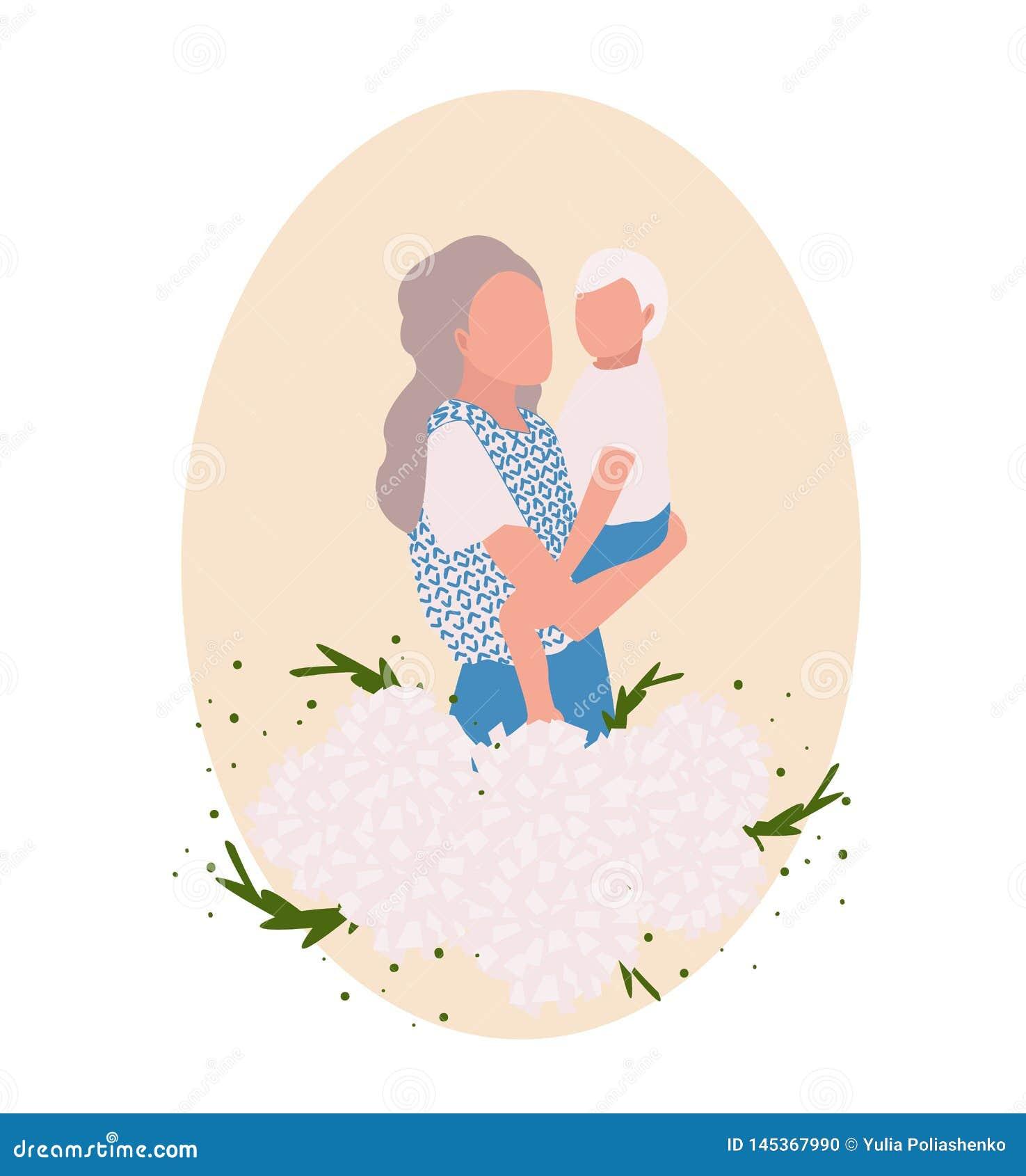 Tarjeta del d?a de madres,