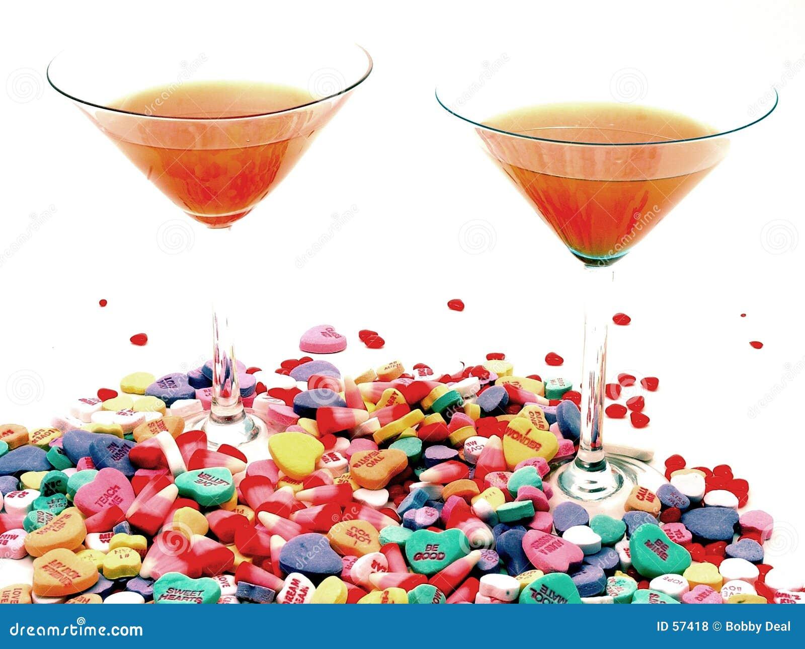 Tarjeta del día de San Valentín Martini
