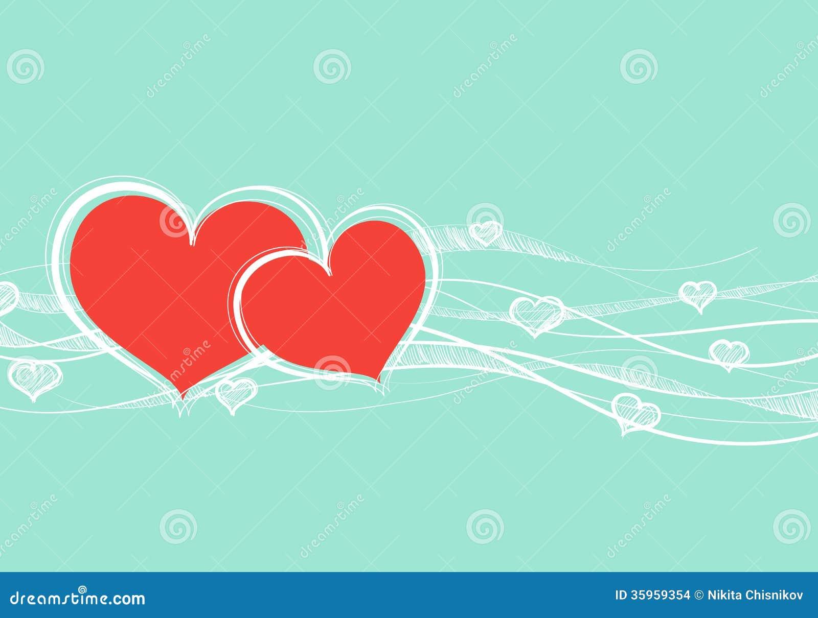 Tarjeta del día de tarjeta del día de San Valentín
