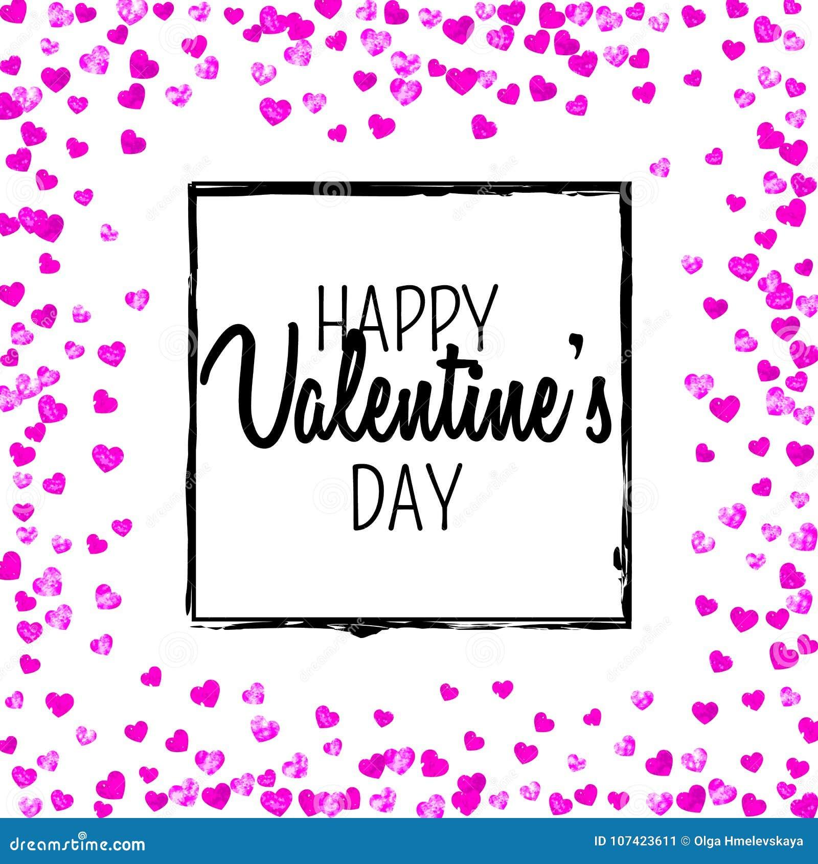 Tarjeta Del Día De Tarjetas Del Día De San Valentín Con Los ...