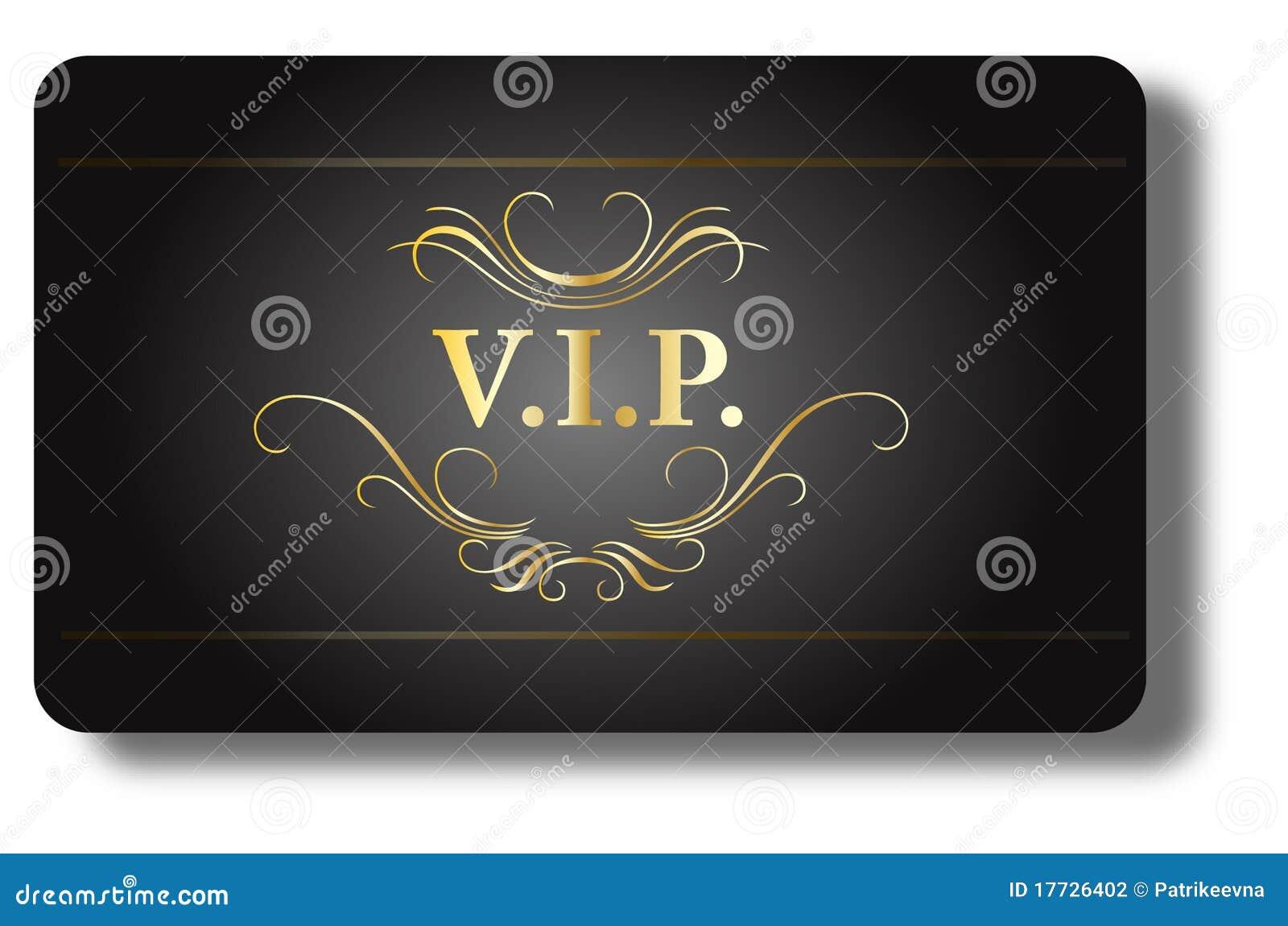 Tarjeta del VIP