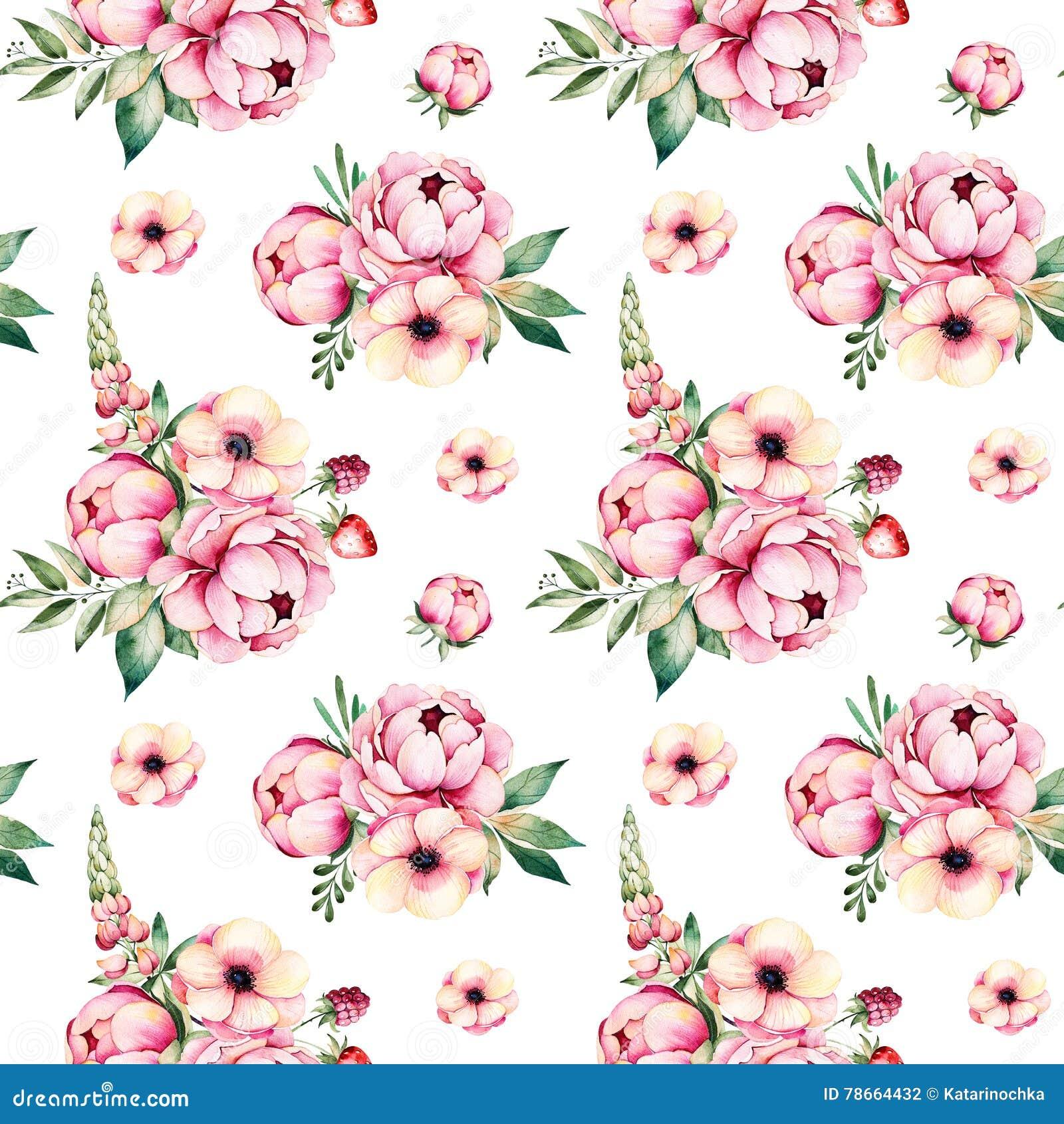 Tarjeta En Colores Pastel Floral Colorida De La Plantilla Con Las ...