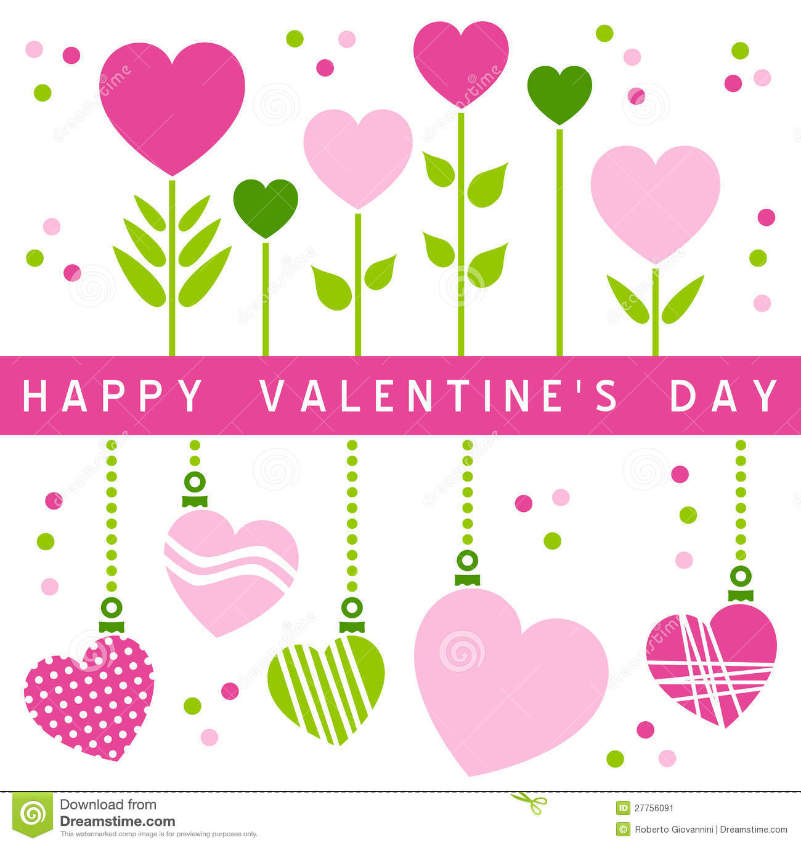 Tarjeta feliz del d a de tarjetas del d a de san valent n - Postales dia de san valentin ...