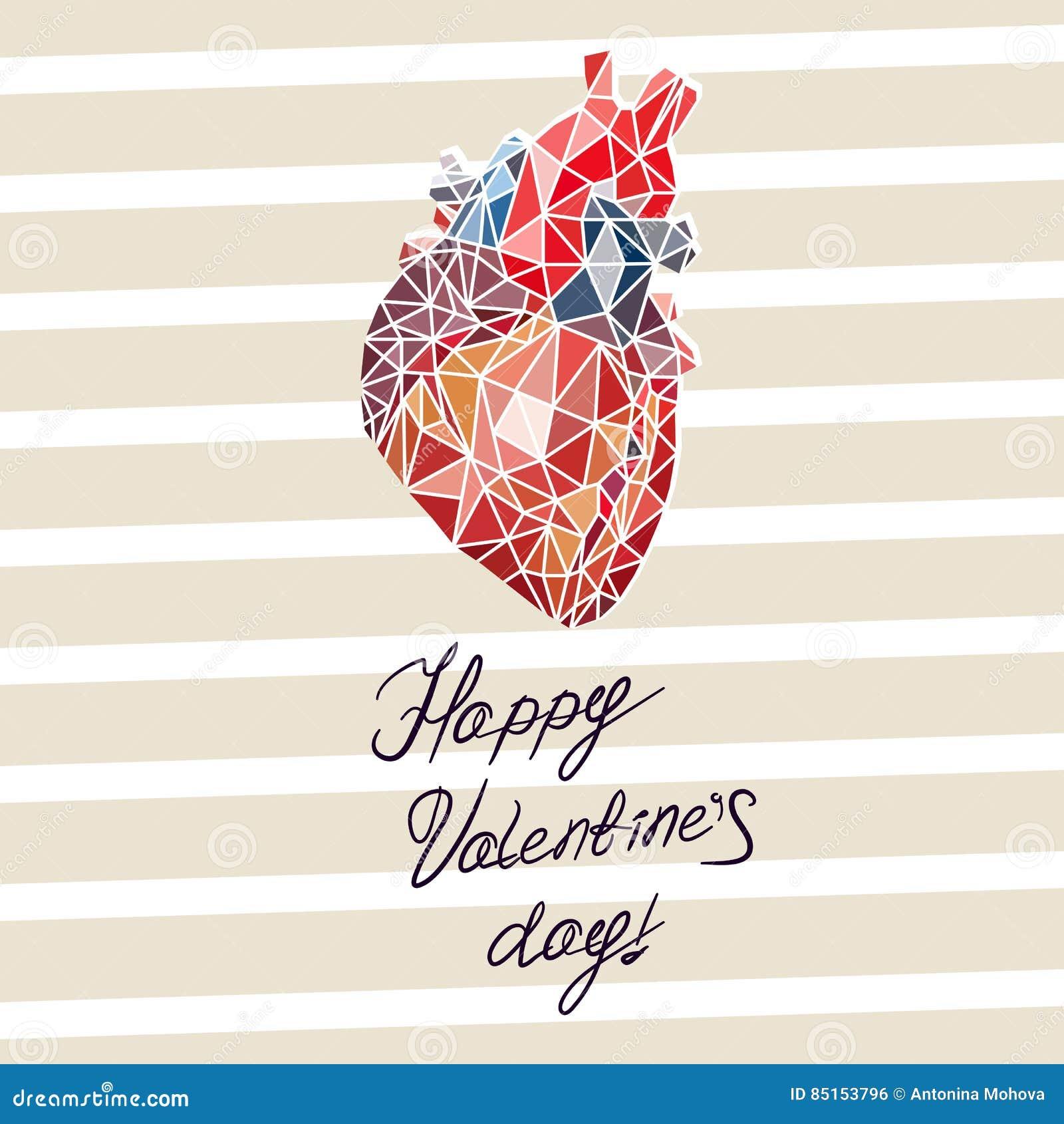 Tarjeta Para El Día Del ` S De La Tarjeta Del Día De San Valentín ...